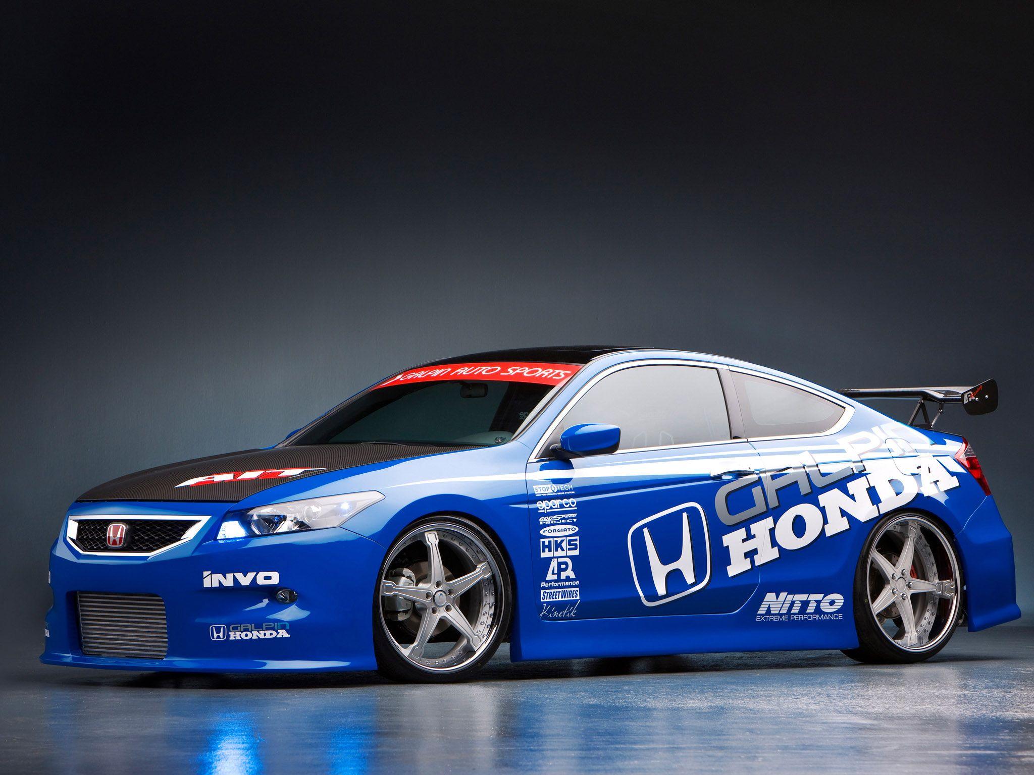 Honda Accord Coupe 2008 Tuning 2048x1536 Download Hd Wallpaper Wallpapertip