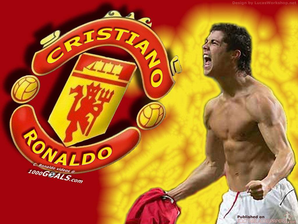 Cristiano Ronaldo Wallpaper Manchester United 1024x768 Download Hd Wallpaper Wallpapertip