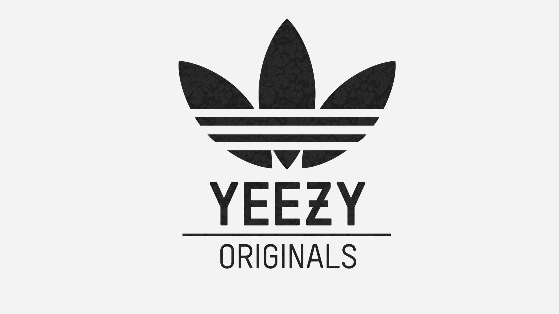 Yeezy X Adidasロゴ アディダスの壁紙 19x1080 Wallpapertip