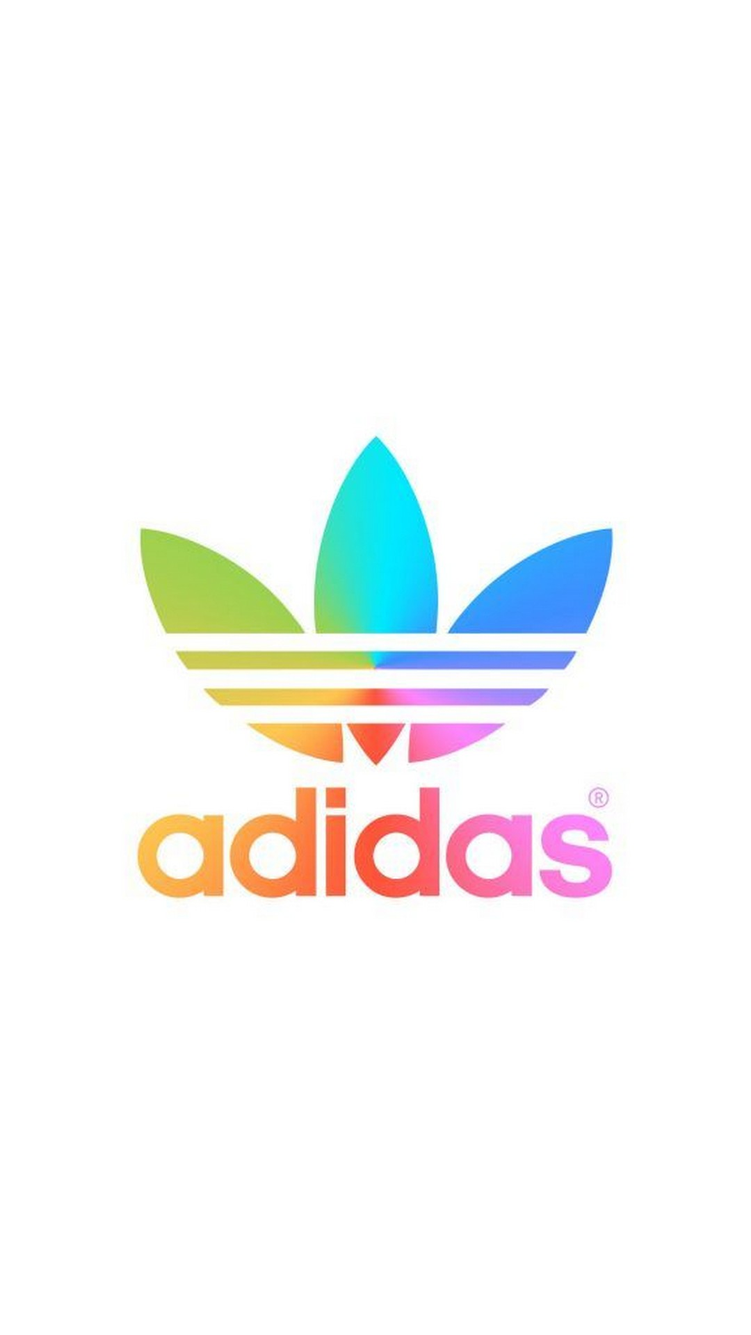Problema Continental distorsión  logotipo de adidas con fondo blanco - fondo de pantalla adidas - 1080x1920  - WallpaperTip