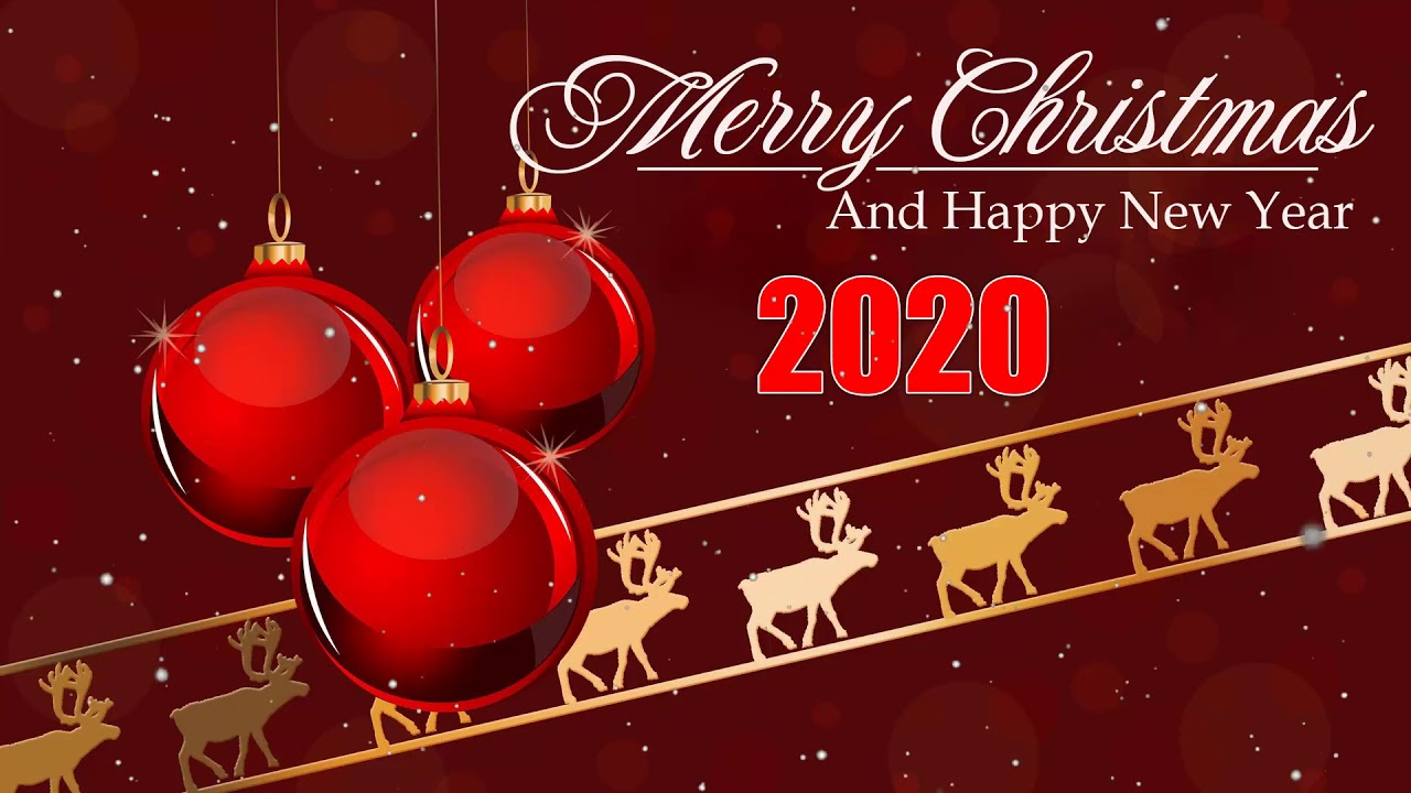 Happy Christmas Wallpaper 2020   1280x720   Download HD Wallpaper
