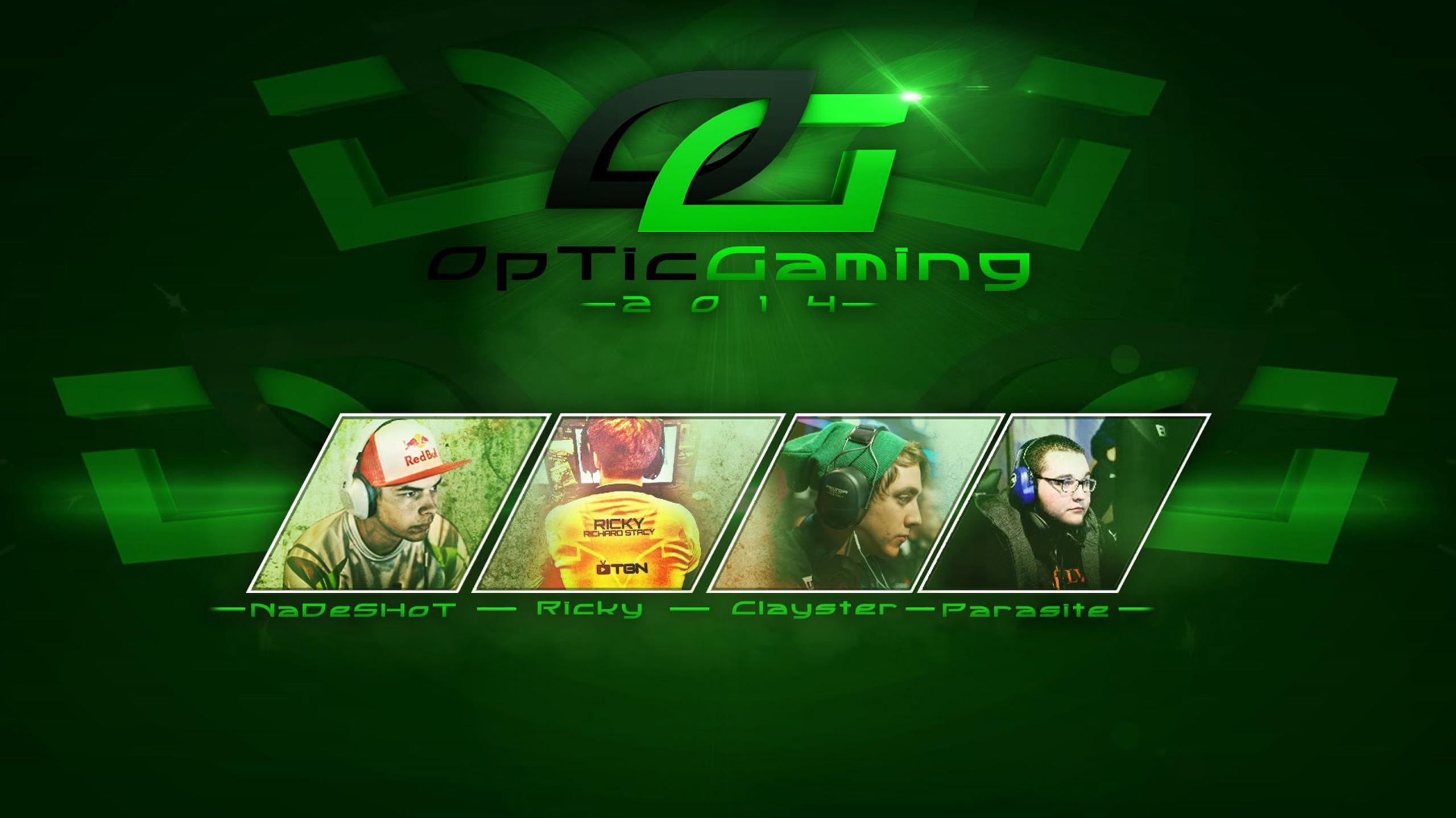 Optic Gaming Background 2560x1440 Download Hd Wallpaper Wallpapertip