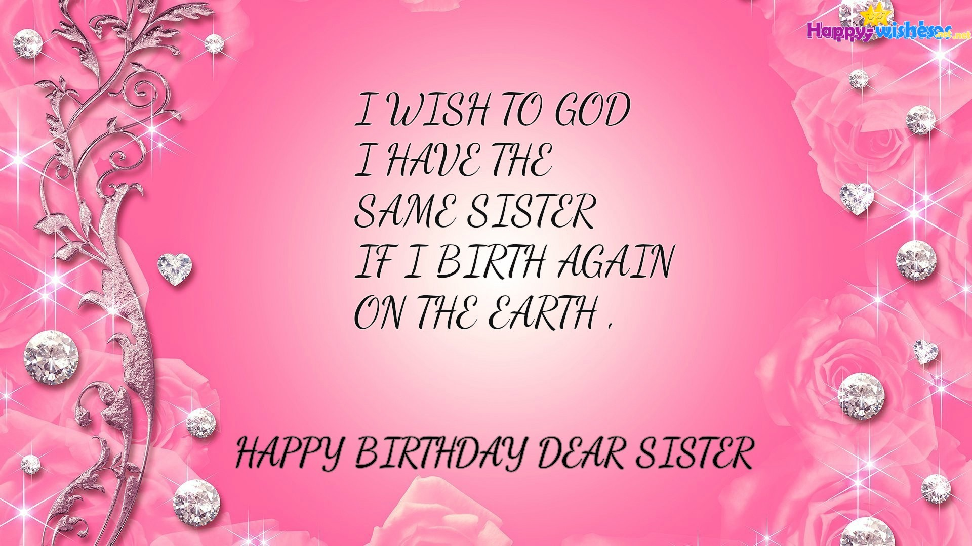 Happy Birthday Sister Wallpapers Hd Download Free Background Beauty Hd Pink 1920x1080 Download Hd Wallpaper Wallpapertip