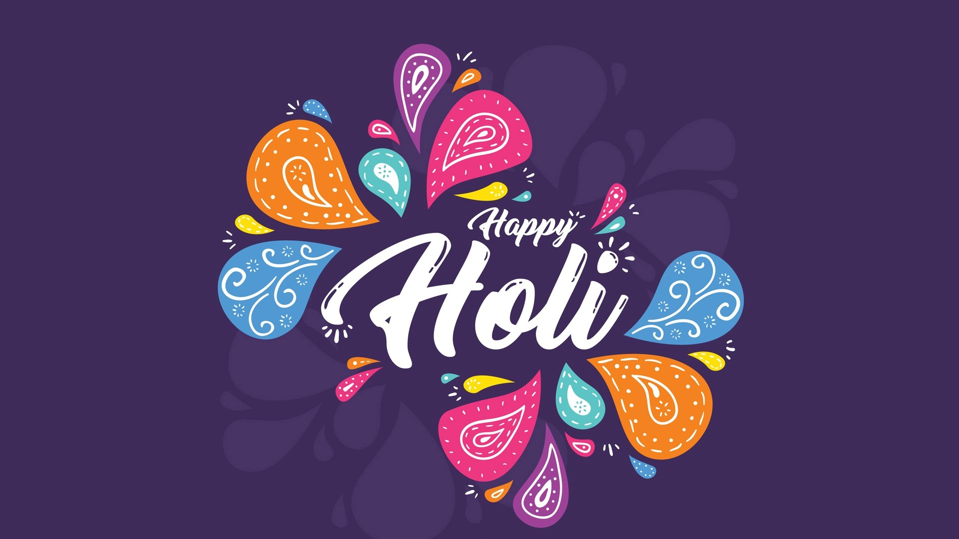 Happy Holi Festival Hd Wallpaper Happy Holi Images Hd 1920x1080 Download Hd Wallpaper Wallpapertip