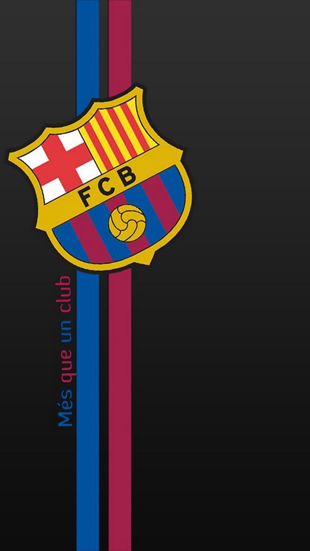Art Barcelona Logo Iphone 5 Fc Barcelona Wallpaper Hd Android 1080x1920 Download Hd Wallpaper Wallpapertip