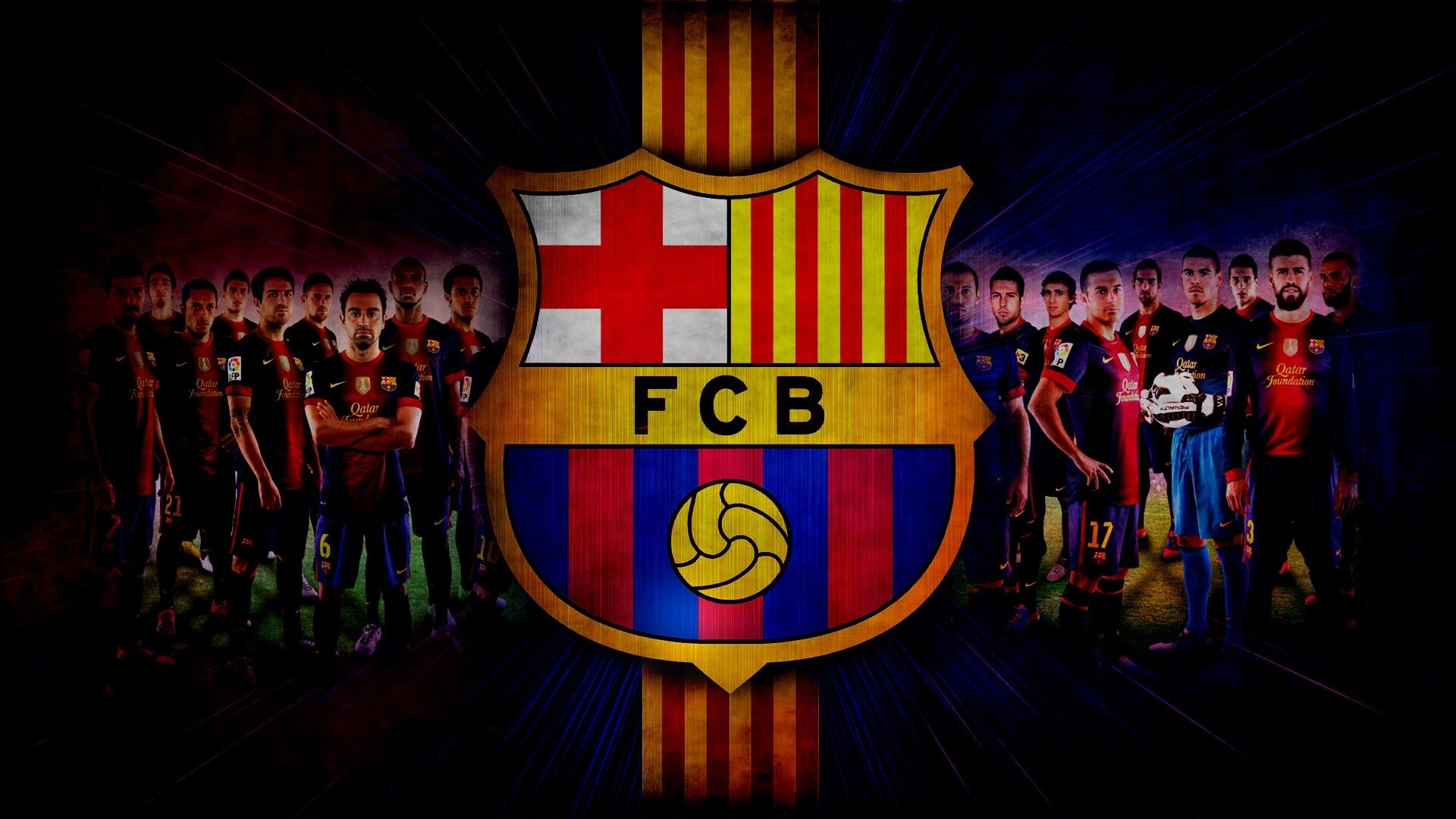 Fc Barca Wallpaper Fc Barcelona Roster 1920x1080 Download Hd Wallpaper Wallpapertip