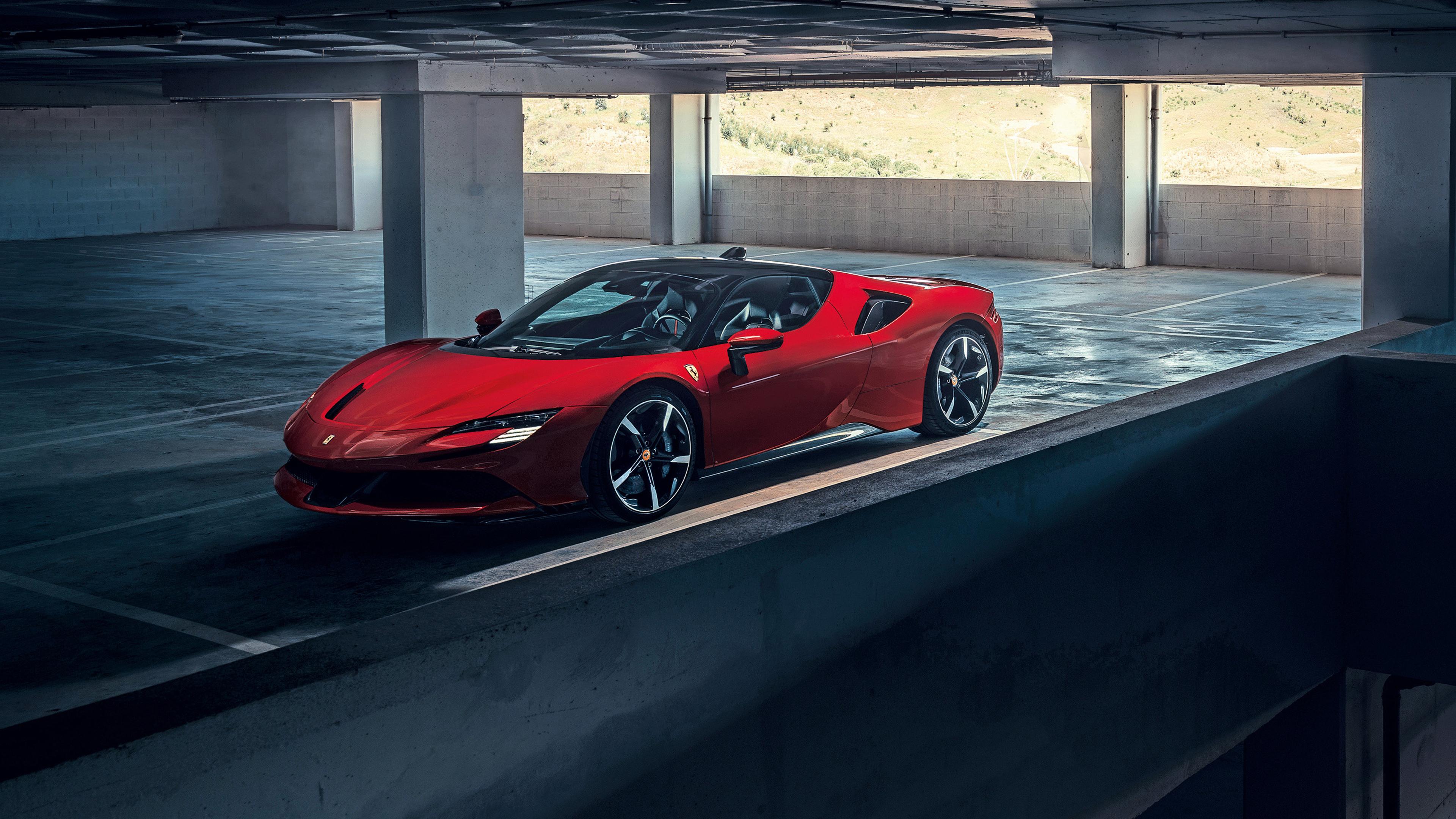 2020 Ferrari Sf90 Stradale Ferrari Tapete 3840x2160 Wallpapertip