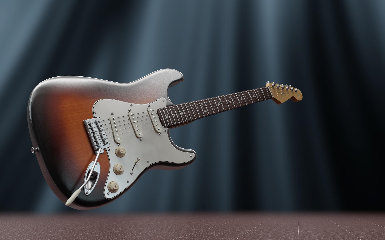 Fondo De Pantalla De Guitarra Electrica 4k Fondo De Pantalla De Guitarra 1366x768 Wallpapertip