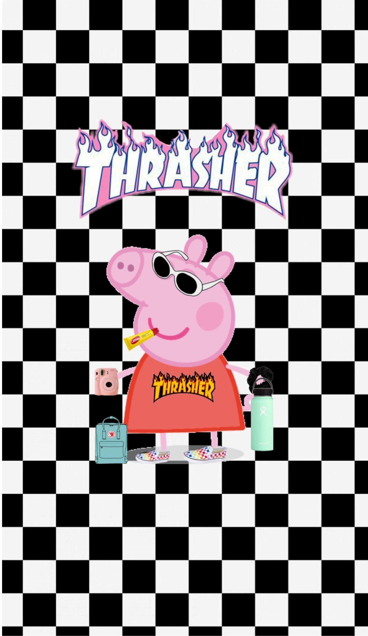 Peppa Pig Aesthetic 1242x2148 Download Hd Wallpaper Wallpapertip