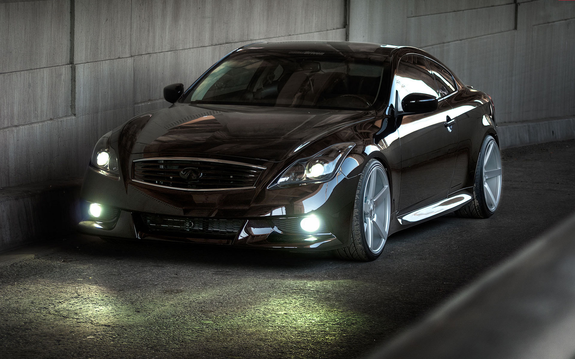 Infiniti G37 Coupe Stance 1920x1200 Download Hd Wallpaper Wallpapertip