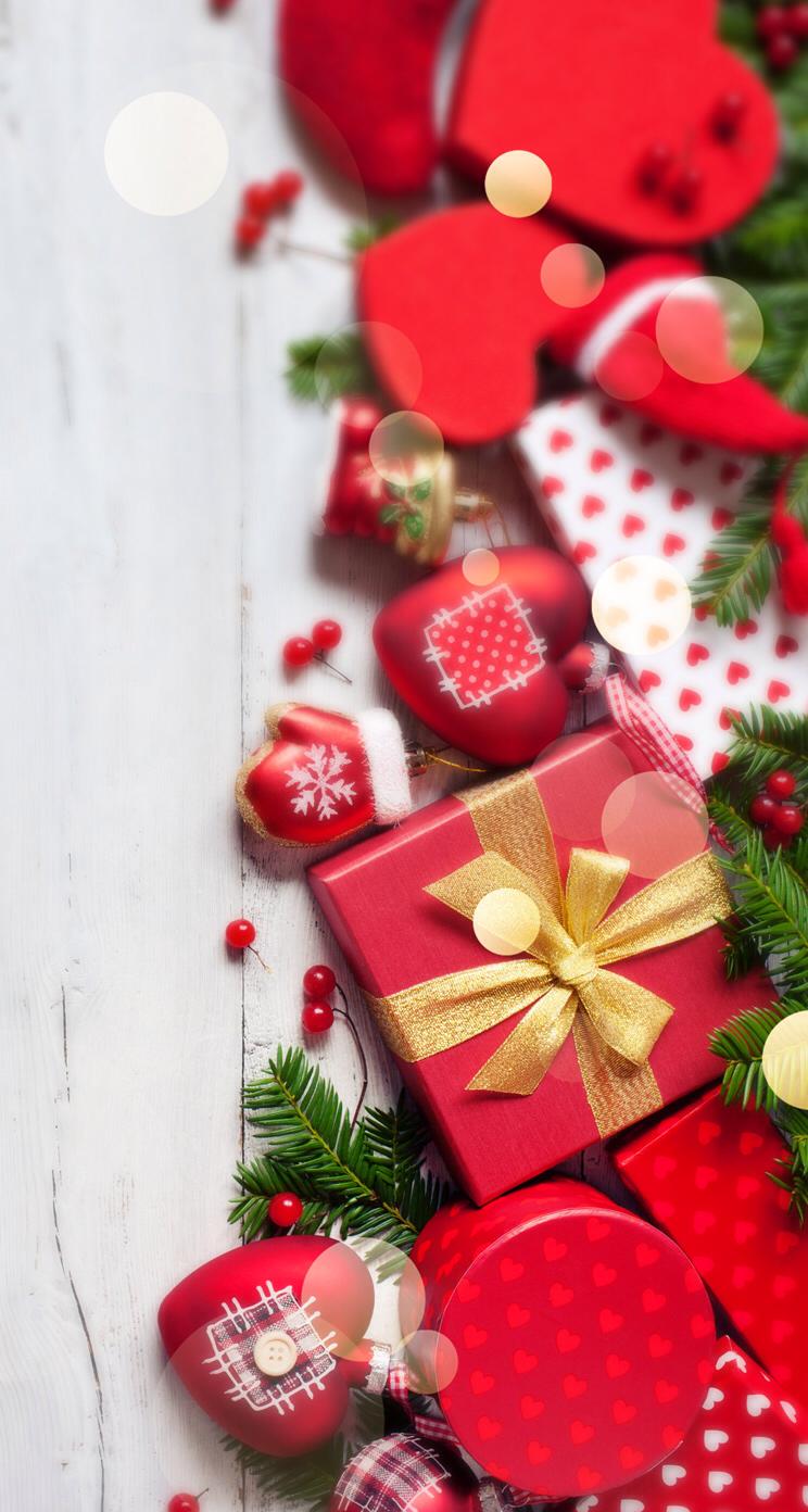 Present Wallpaper Christmas 744x1392 Download Hd Wallpaper Wallpapertip
