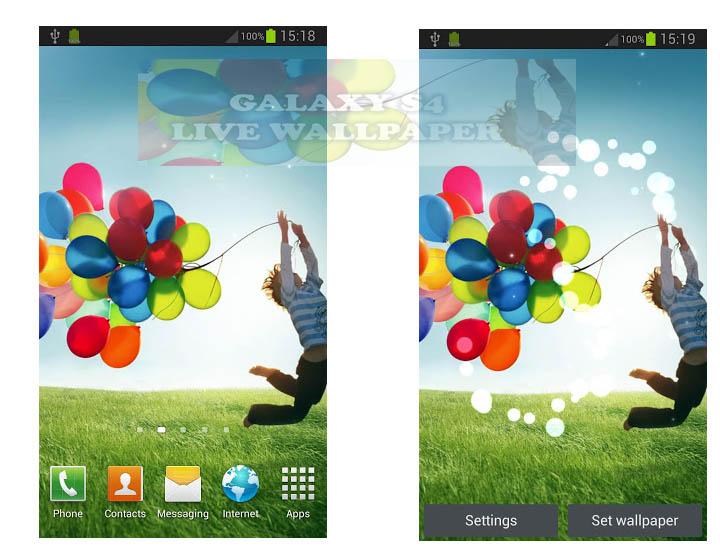 Samsung Galaxy Live Wallpaper Apk Samsung Galaxy S4 Gt I9500 720x550 Download Hd Wallpaper Wallpapertip