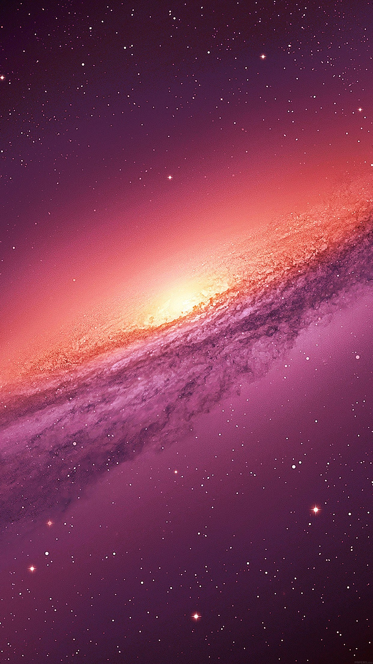 Purple Galaxy Space Nature Iphone 6 ...