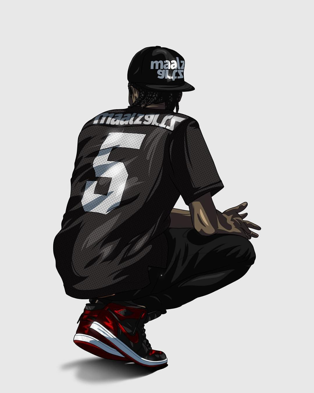 Dope Cartoon Wallpaper Iphone 640x799 Download Hd Wallpaper Wallpapertip