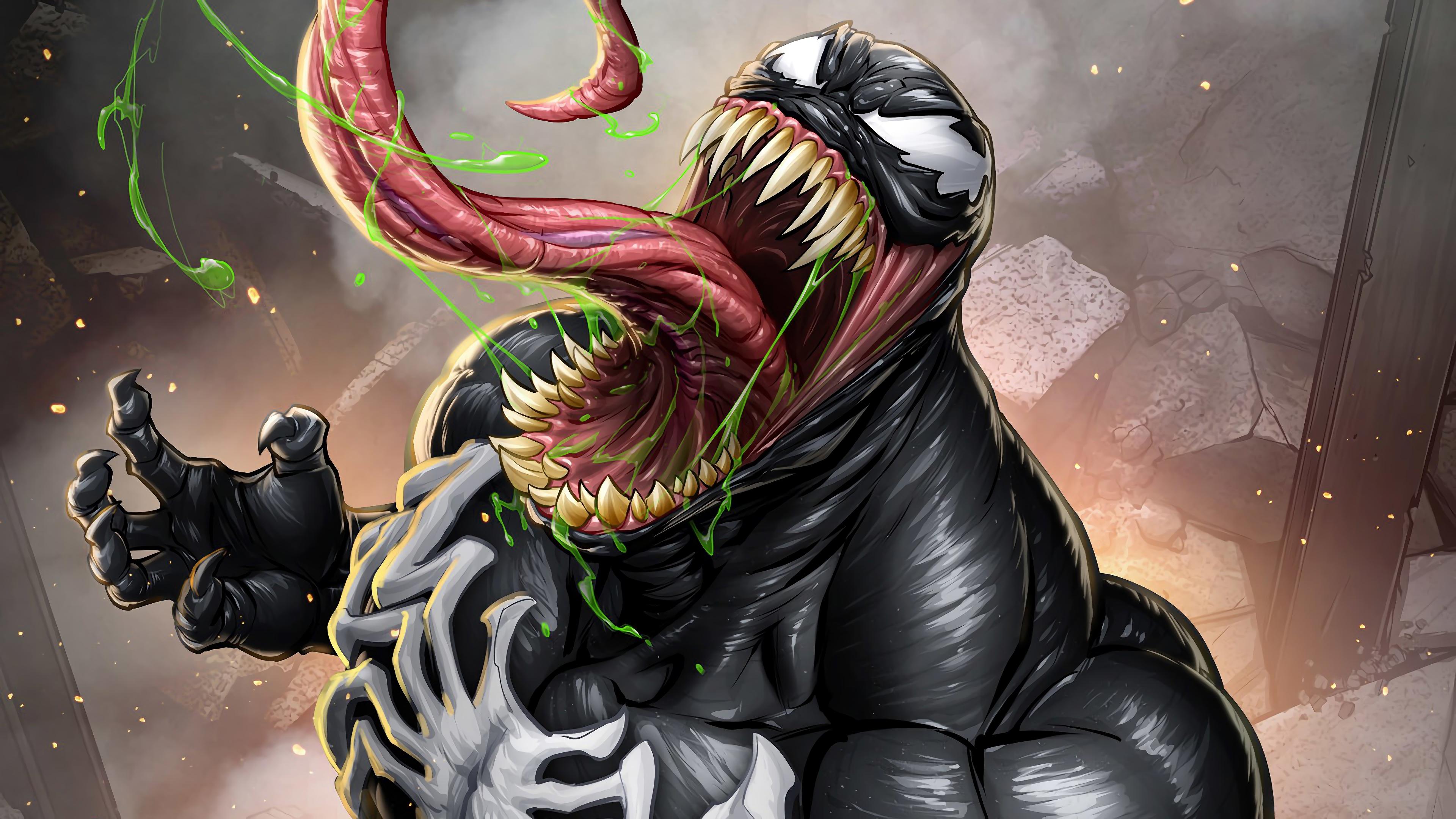 Venom Comics Wallpaper 4k - 3840x2160 - Download HD ...