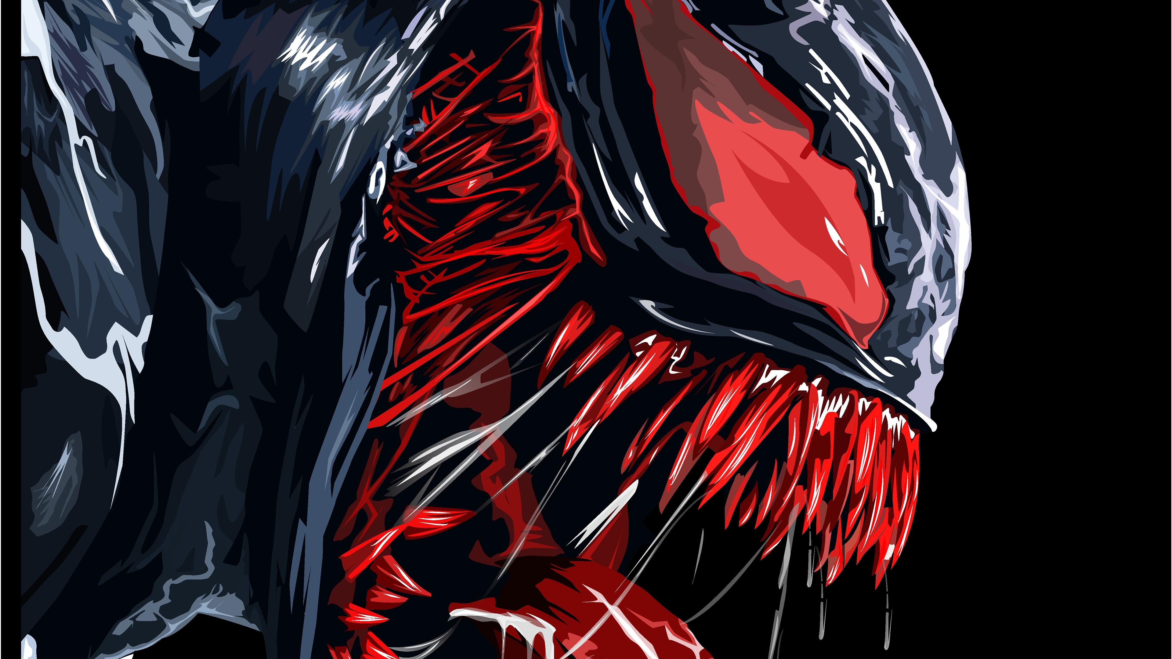 Iphone Venom Wallpaper 4k 3840x2160 Download Hd Wallpaper Wallpapertip