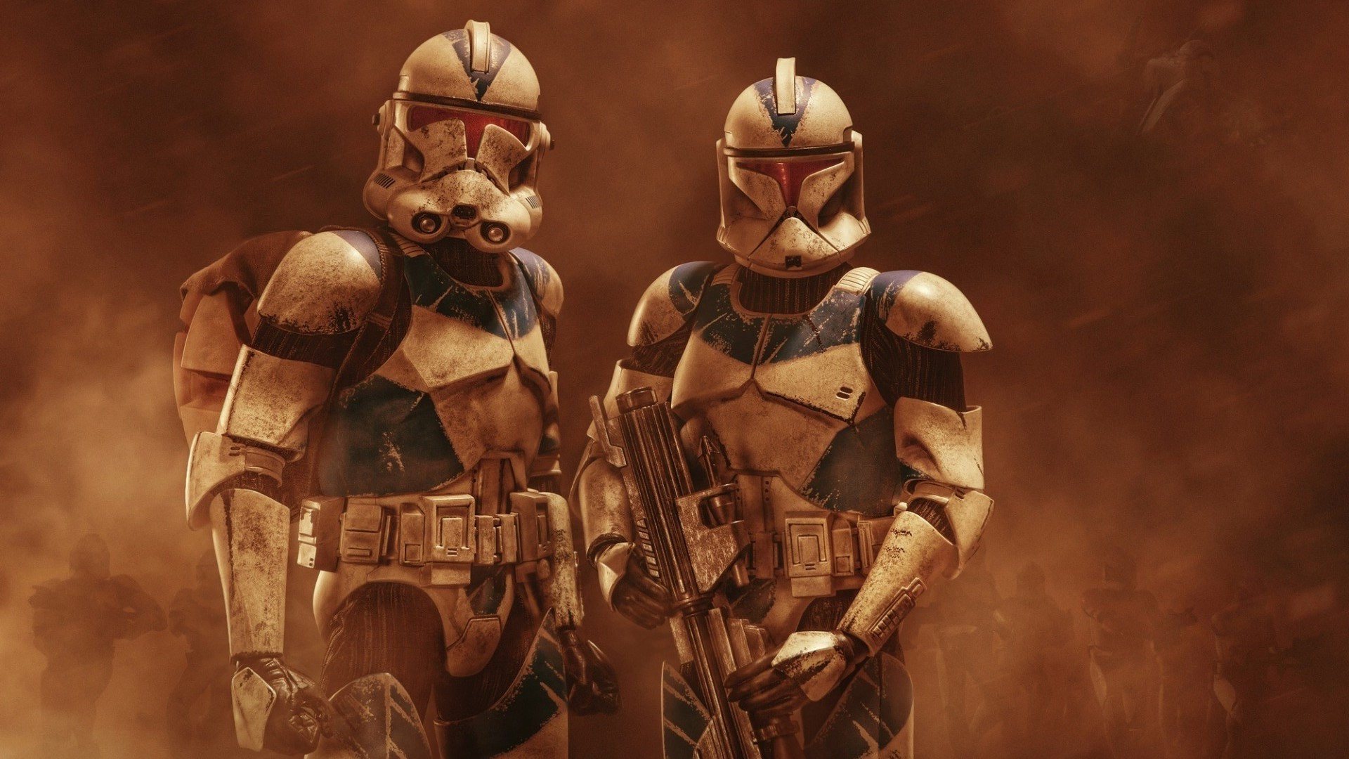 Star Wars Clone Troopers Wallpaper Src Star Wars Star Wars Clones Artwork 1920x1080 Download Hd Wallpaper Wallpapertip