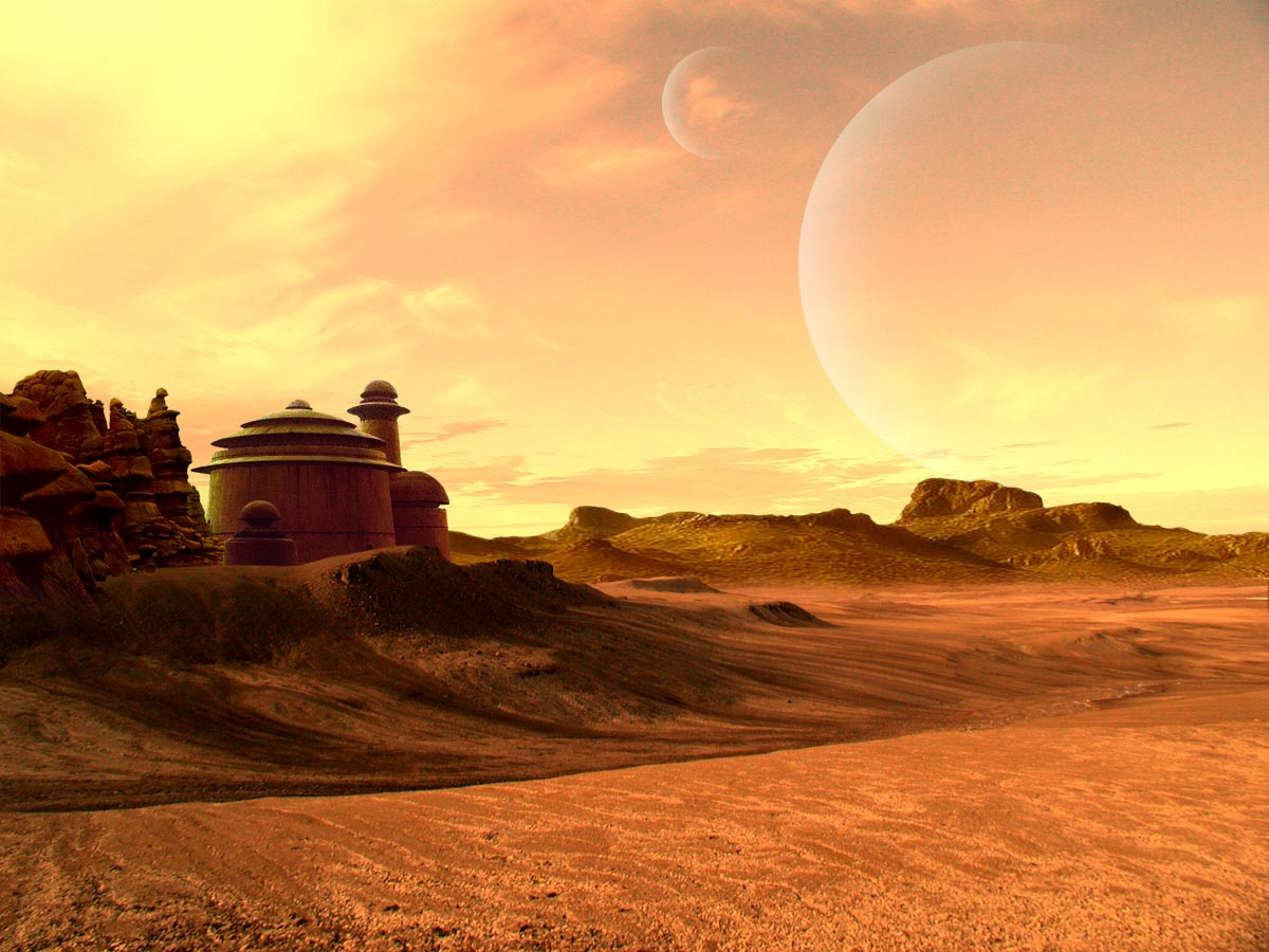 Star Wars Helysznek 1 Tatooine Star Wars Landscape 1200x900 Download Hd Wallpaper Wallpapertip