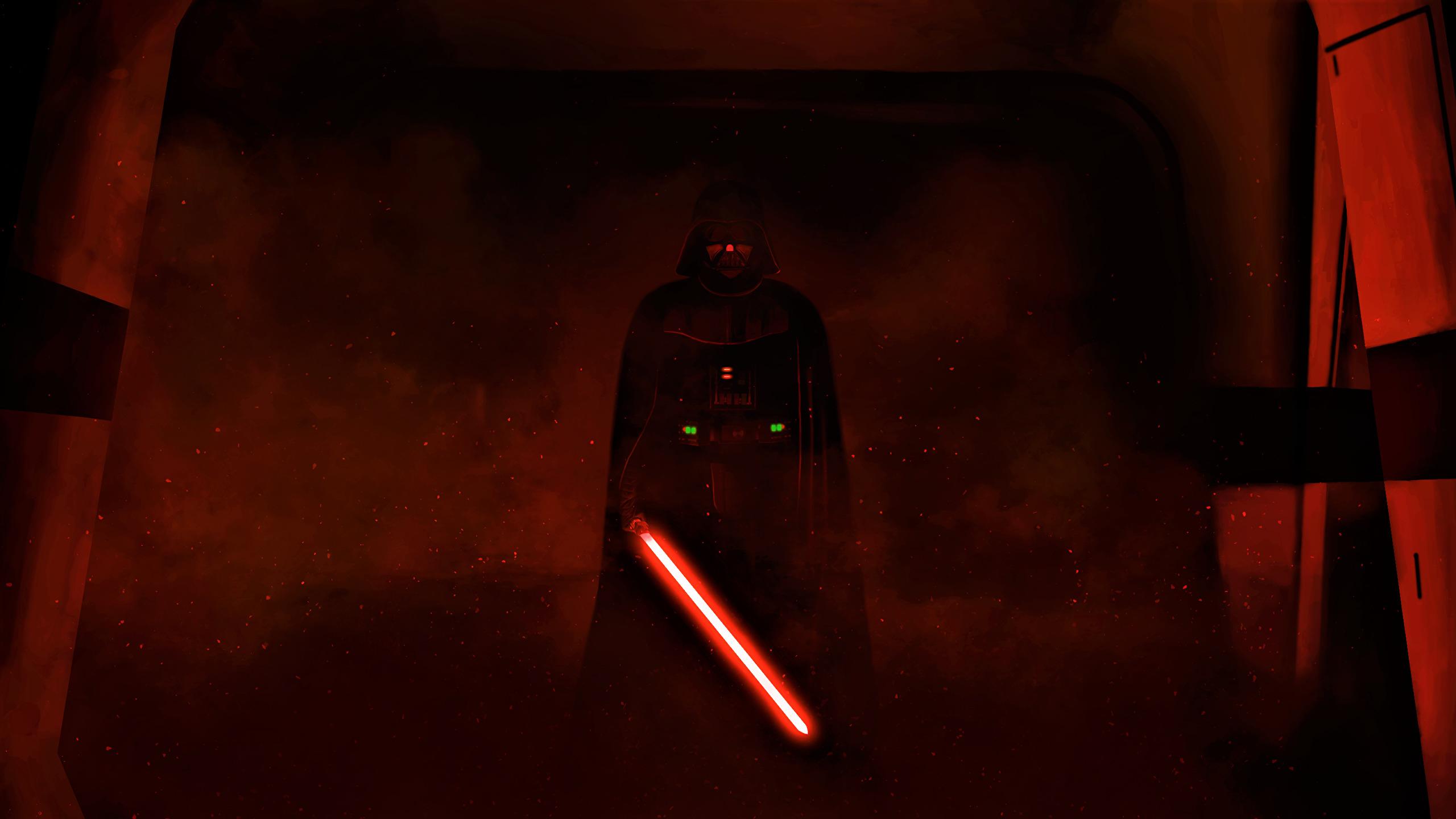 Star Wars Wallpaper Darth Vader 2560x1440 Download Hd Wallpaper Wallpapertip