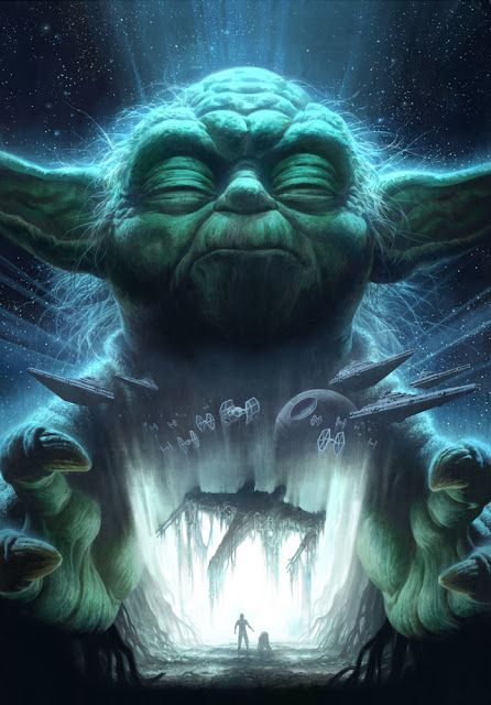 Star Wars Yoda Fan Art 446x640 Download Hd Wallpaper Wallpapertip