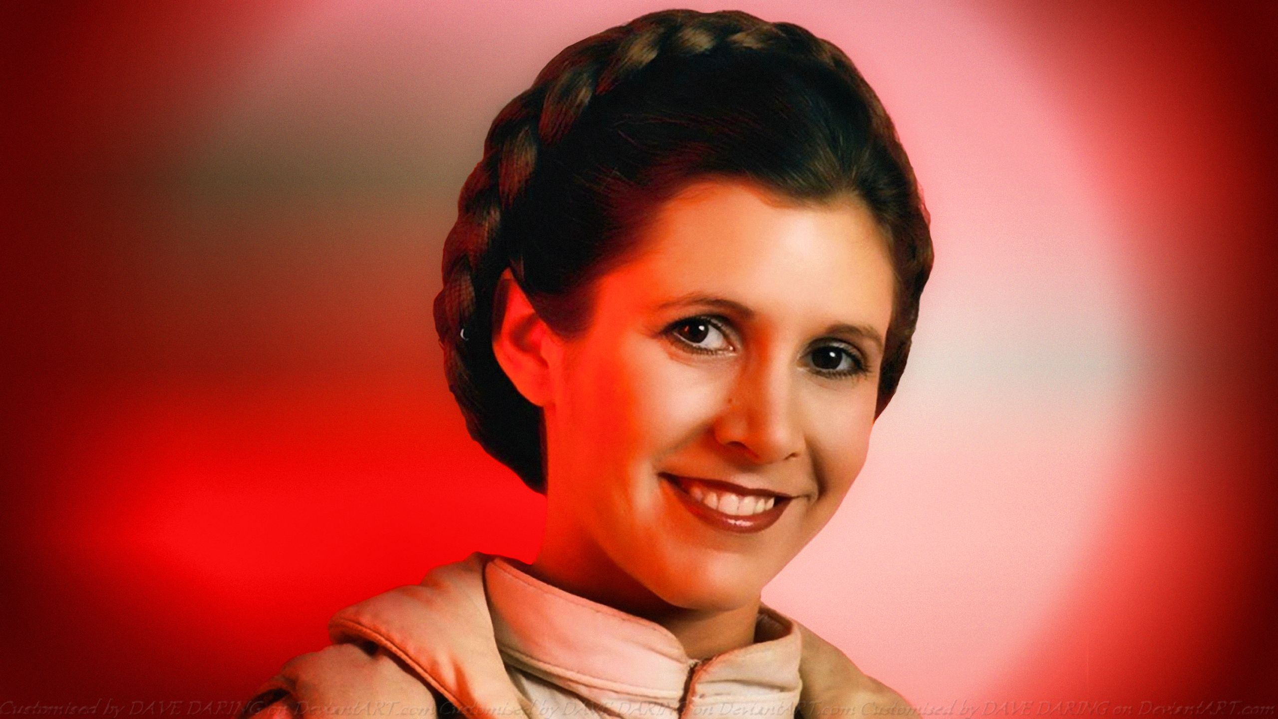 Carrie Fisher Leia Organa Episode 5 2560x1440 Download Hd Wallpaper Wallpapertip