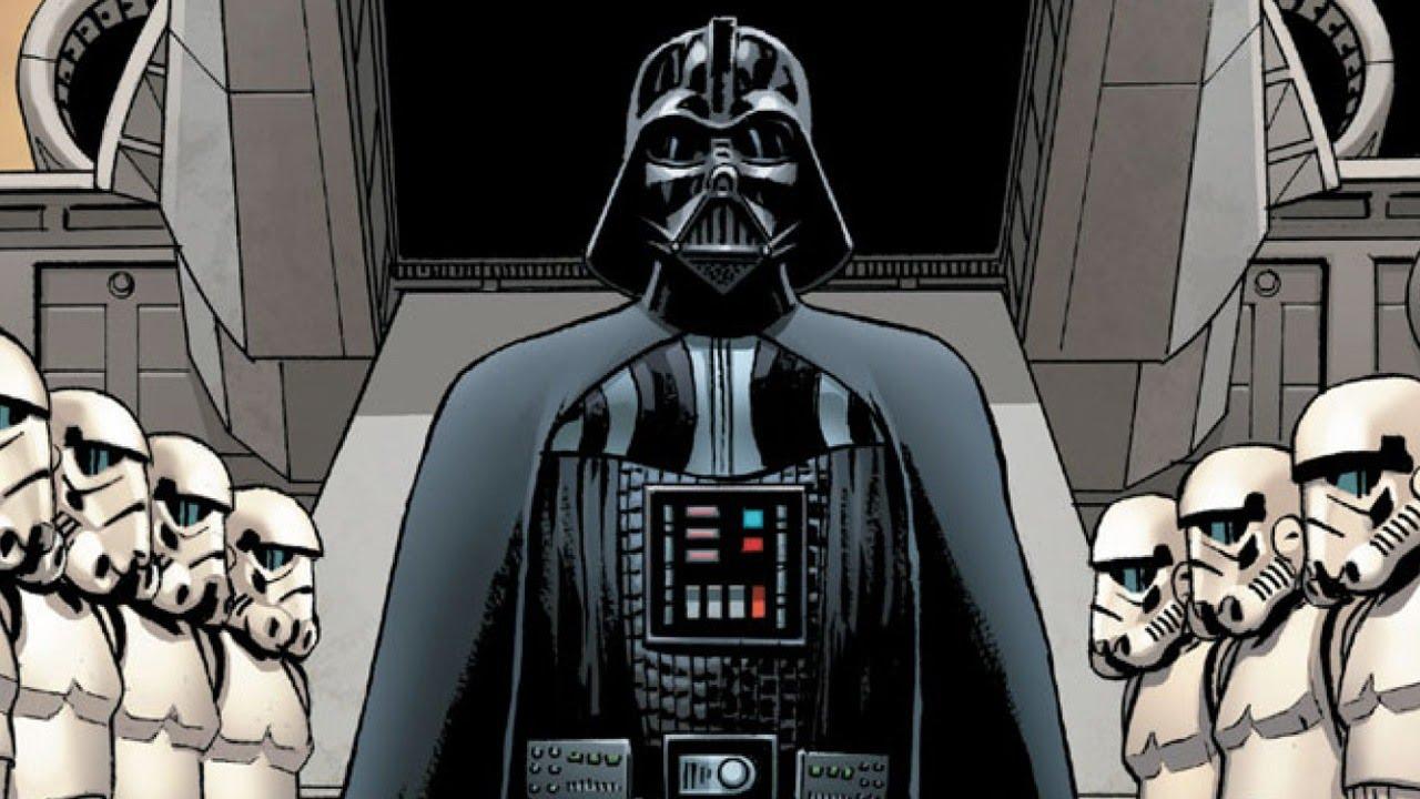 Star Wars Vader Comic Art 1280x720 Download Hd Wallpaper Wallpapertip