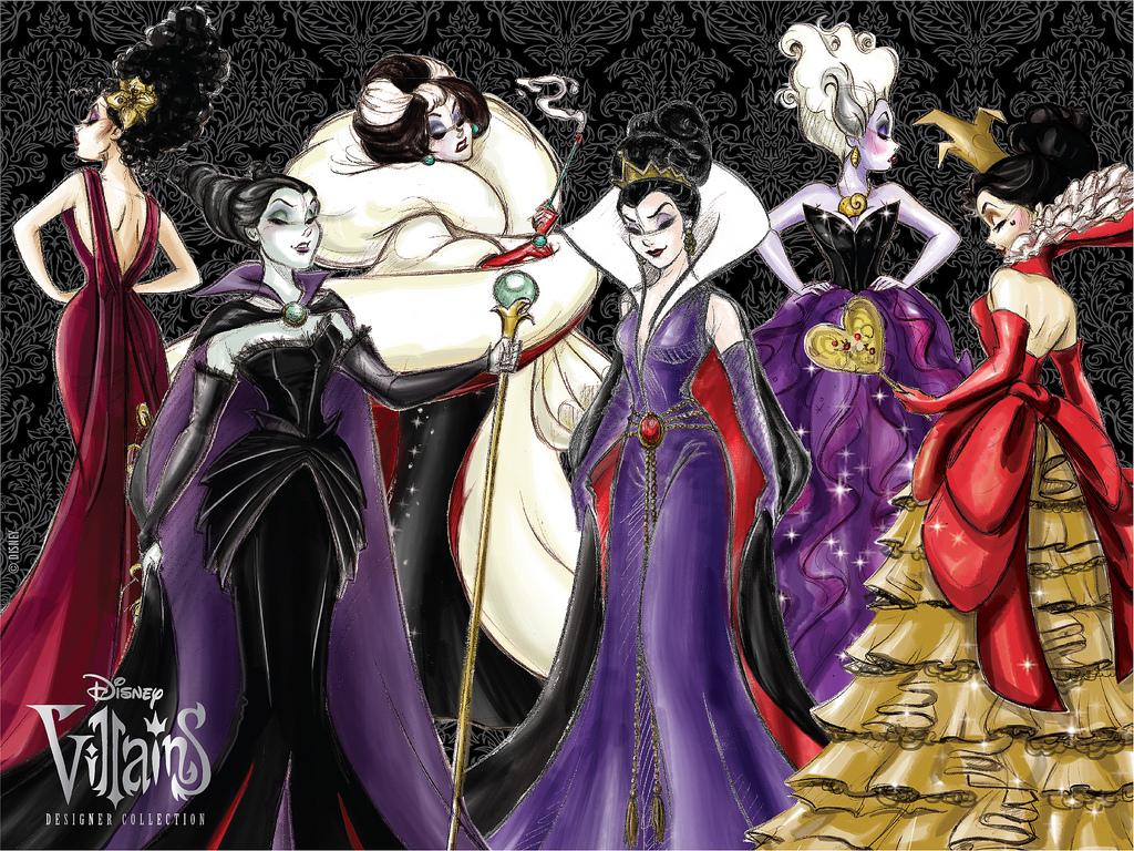 Disney Villains Wallpaper Female Disney Villains 1024x768 Download Hd Wallpaper Wallpapertip