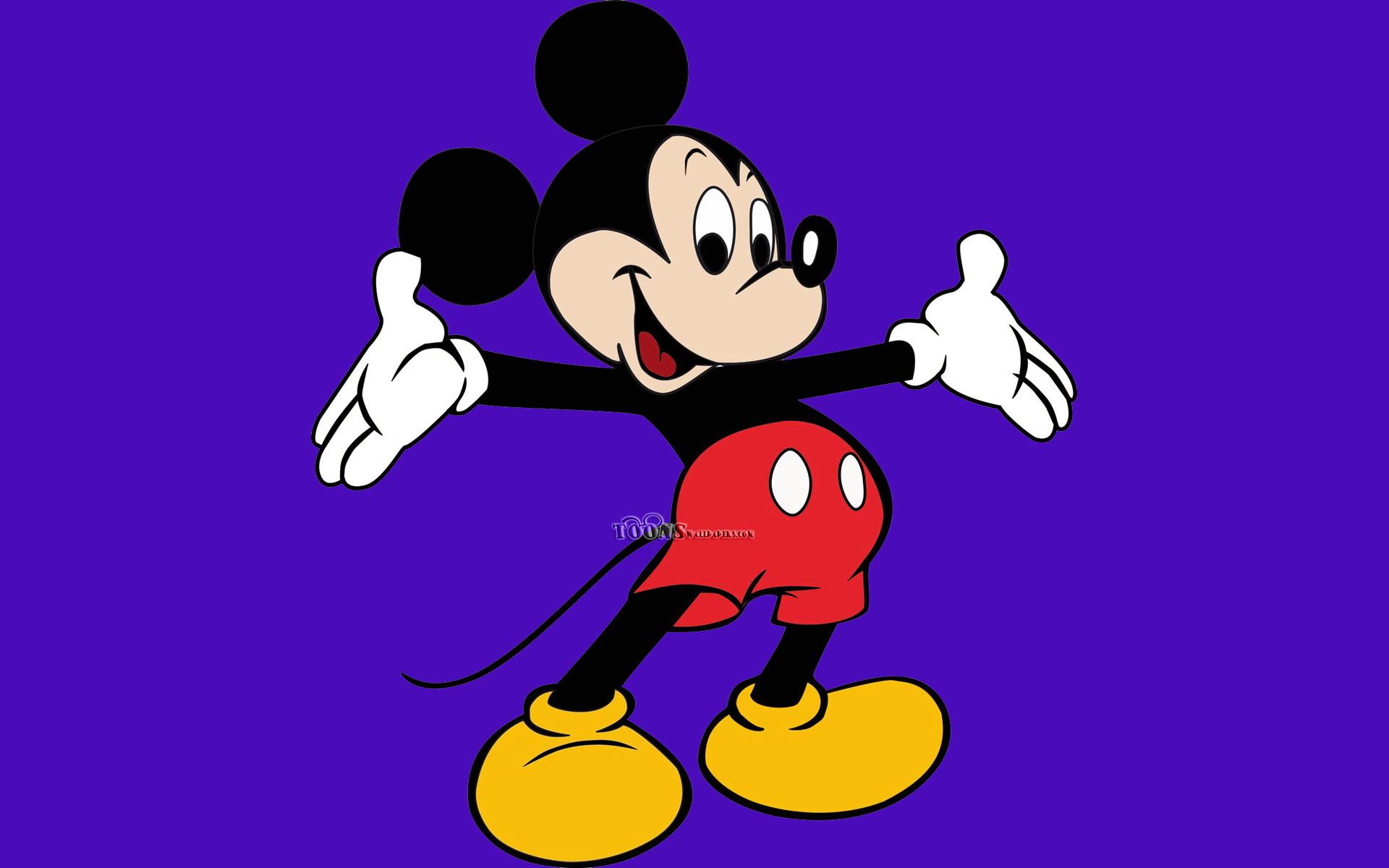 ミッキーマウスの青い背景 無料ディズニー壁紙ダウンロード 19x10 Wallpapertip