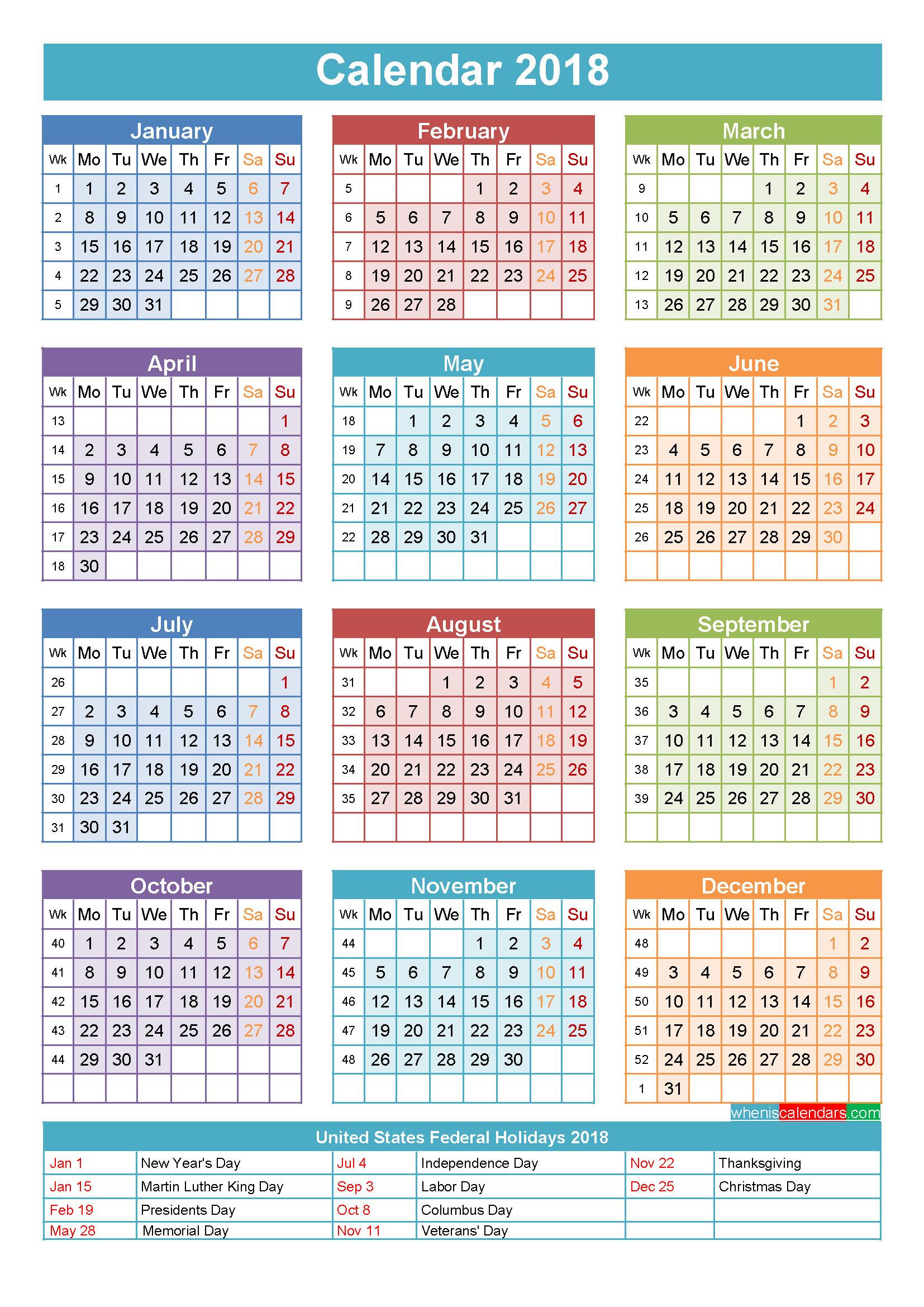 主要な休日のある年のカレンダー 無料デスクトップカレンダー壁紙 1654x2339 Wallpapertip