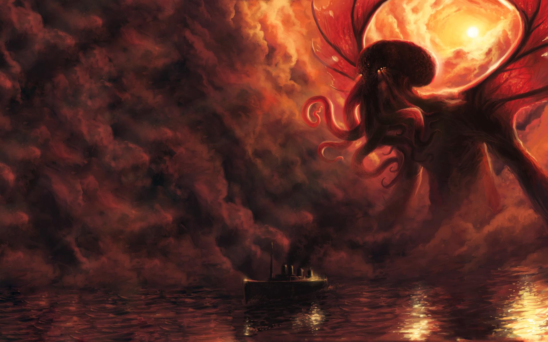 クトゥルフ Hp Lovecraft壁紙 19x10 Wallpapertip