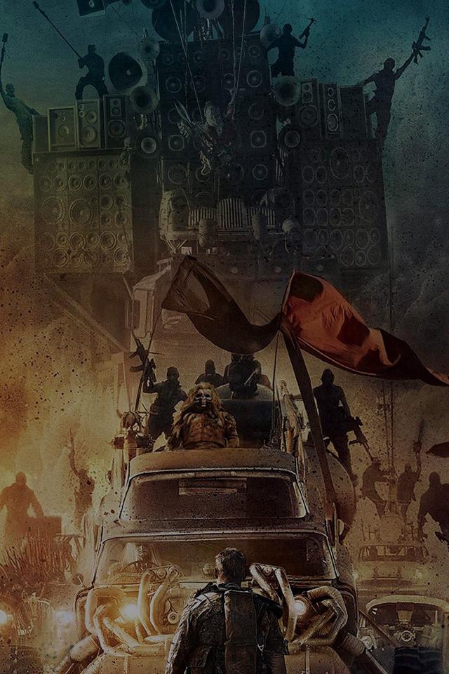 Poster Mad Max Furyroad Art Illust Dark Iphone 4s ...