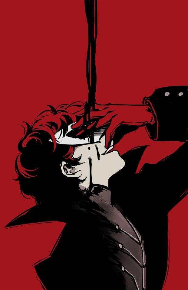 Persona 5 Akira Kurusu 621x960 Download Hd Wallpaper Wallpapertip
