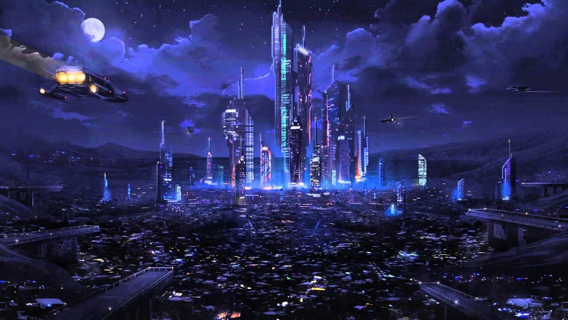 4k Future Cyberpunk City 1280x720 Download Hd Wallpaper Wallpapertip
