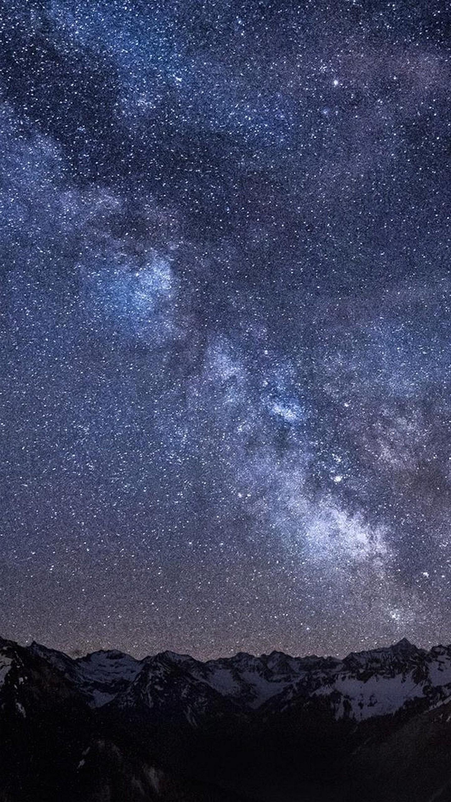夜空の壁紙iphone 1440 X 2560 4k壁紙 1440x2560 Wallpapertip
