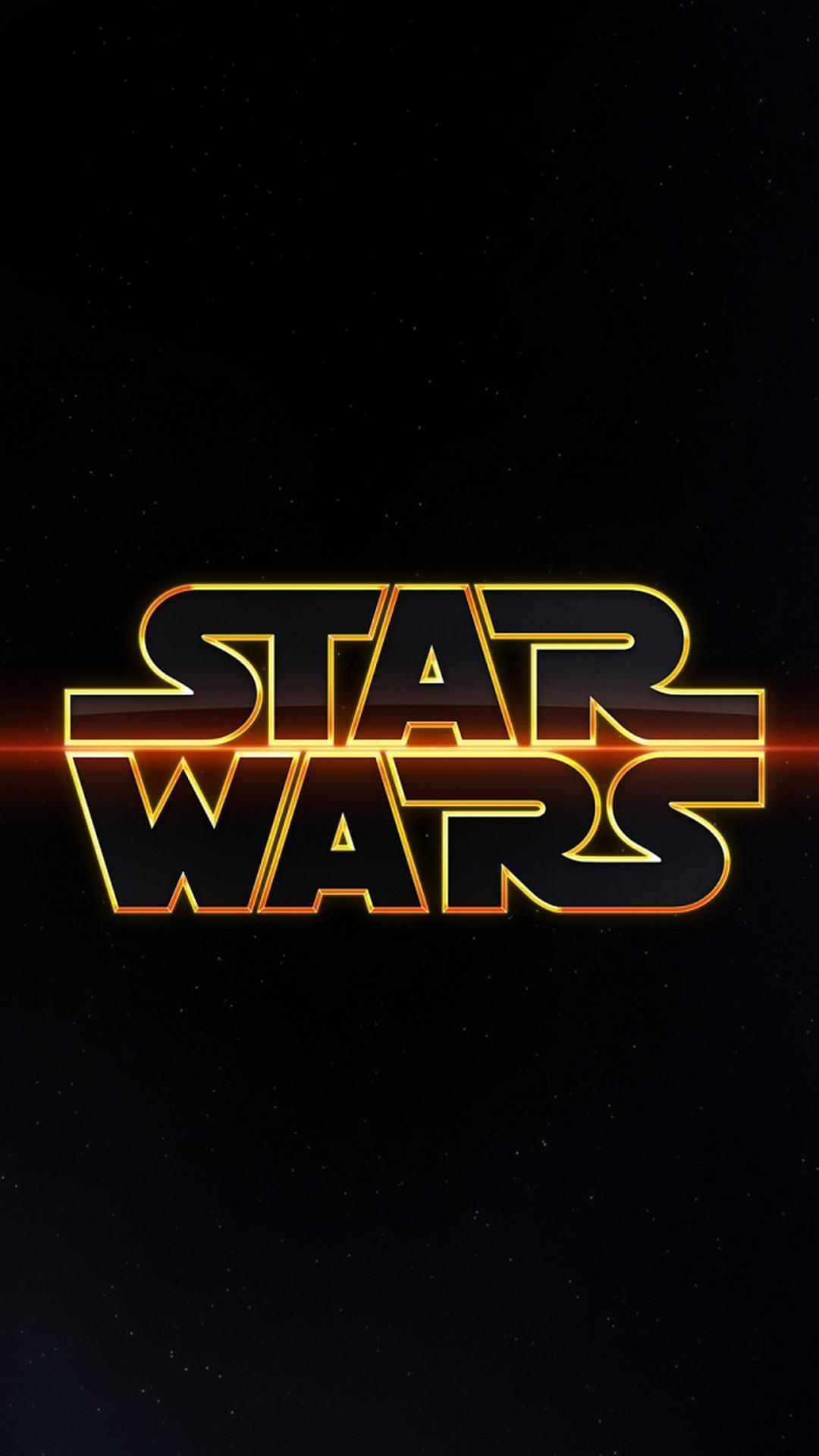 Star Wars Logo Star Wars Logo Wallpaper Iphone 11 1080x1920 Download Hd Wallpaper Wallpapertip