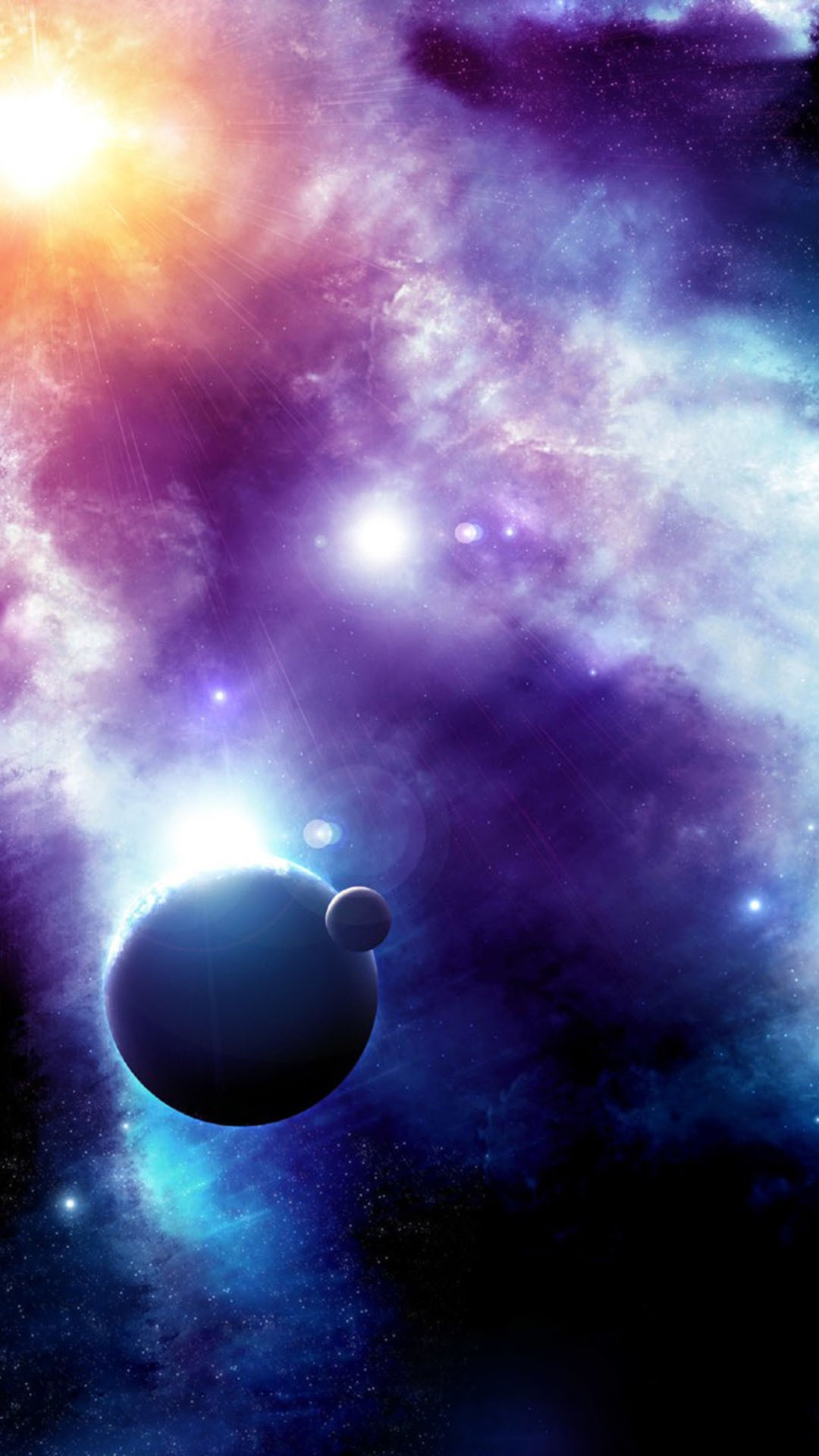 Nice Wallpaper For Samsung Cool Space Pictures Real 1080x1920 Download Hd Wallpaper Wallpapertip