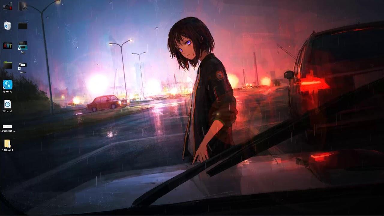 motor de fondo de pantalla de lluvia de anime - anime rain ...