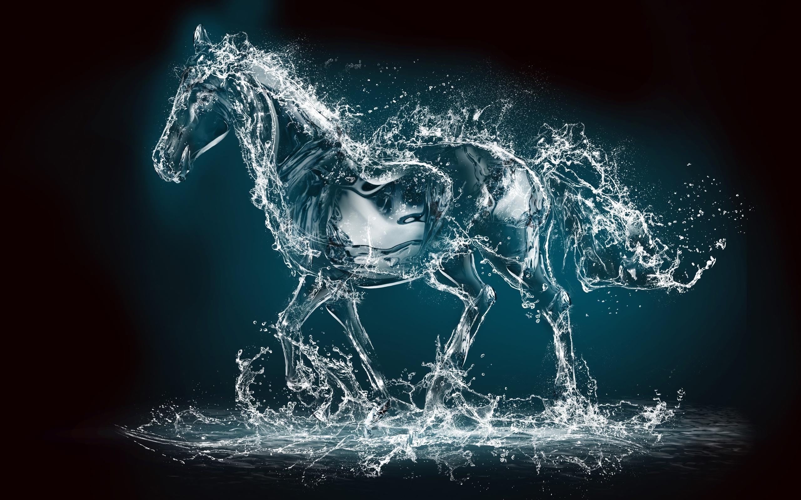 3d Horse Wallpaper 2560x1600 Download Hd Wallpaper Wallpapertip