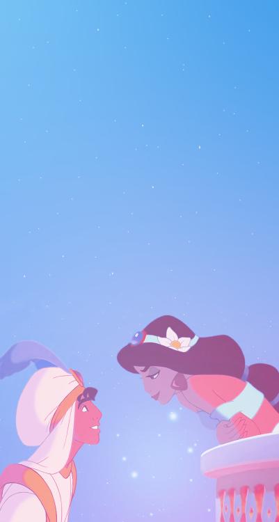 Made An Aladdin Iphone Wallpaper Too Disney Love Wallpaper Iphone 401x750 Download Hd Wallpaper Wallpapertip