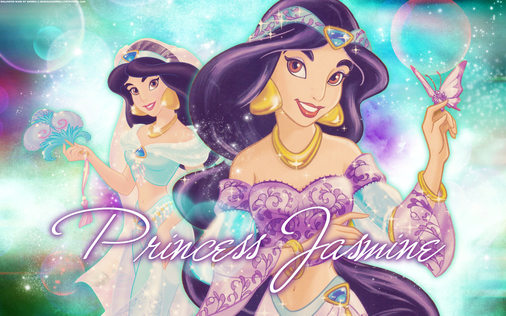 ディズニー壁紙ジャスミン王女 プリンセスジャスミン壁紙 19x10 Wallpapertip