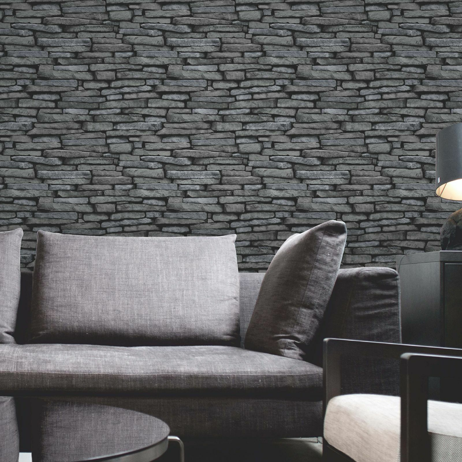 Brick Effect Wallpaper Living Room Ideas 1600x1600 Download Hd Wallpaper Wallpapertip