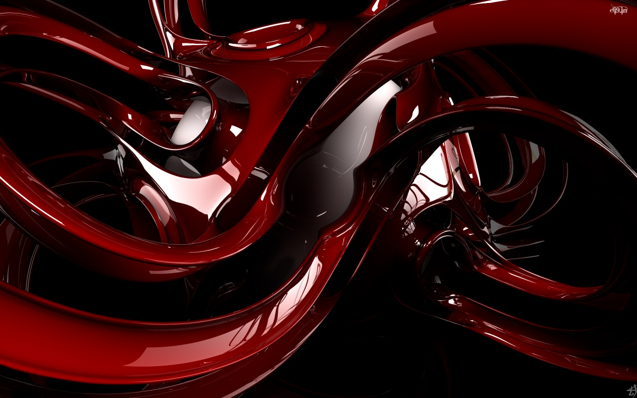 Cool 3d Wallpaper Red