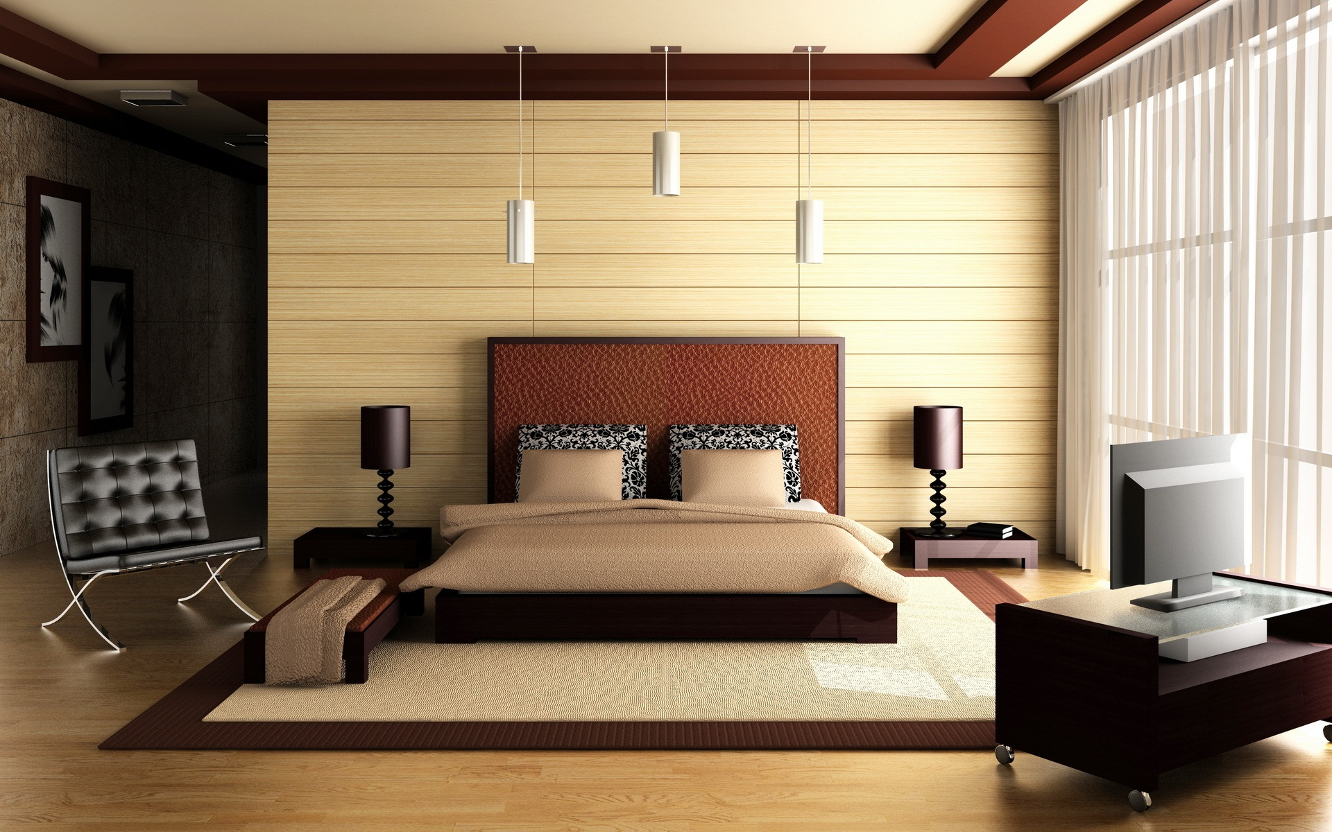 Architectural Interior Design Bedroom - 7x7 - Download HD