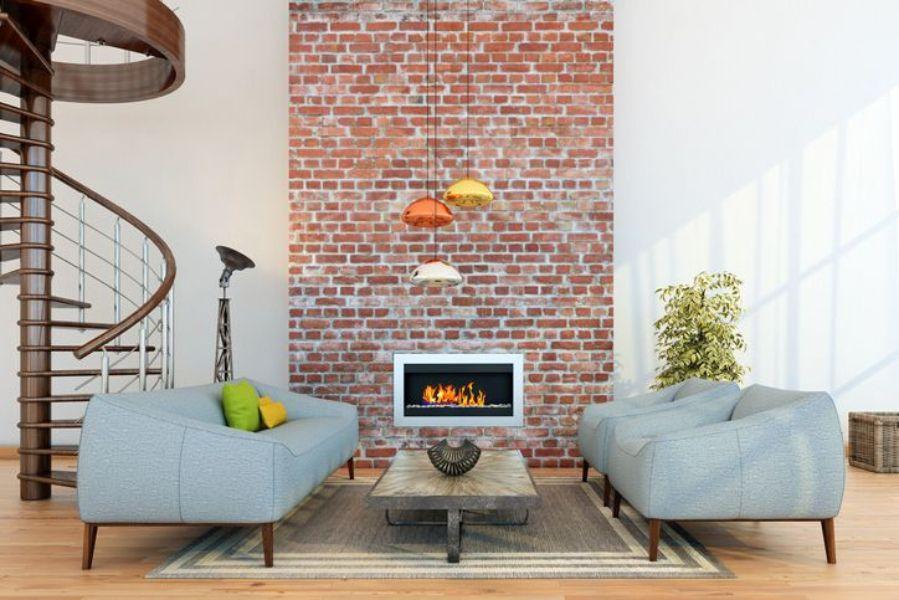 Small Living Room Arrangement With A Brick Fireplace Brick Wallpaper Living Room Ideas 849x565 Download Hd Wallpaper Wallpapertip,Native American Indian Tribal Tattoo Designs