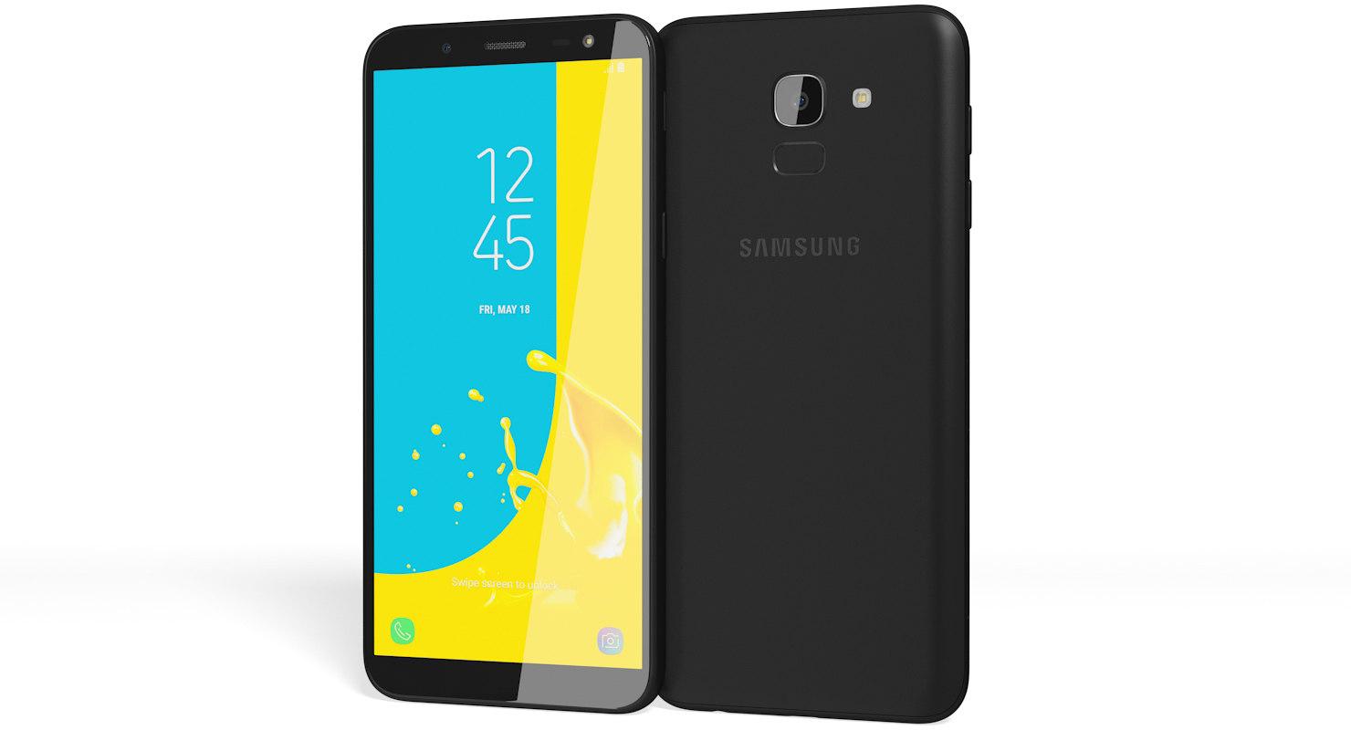 Realistic Samsung Galaxy J6 3d Turbosquid Samsung Galaxy J6 2018 Black 1480x800 Download Hd Wallpaper Wallpapertip