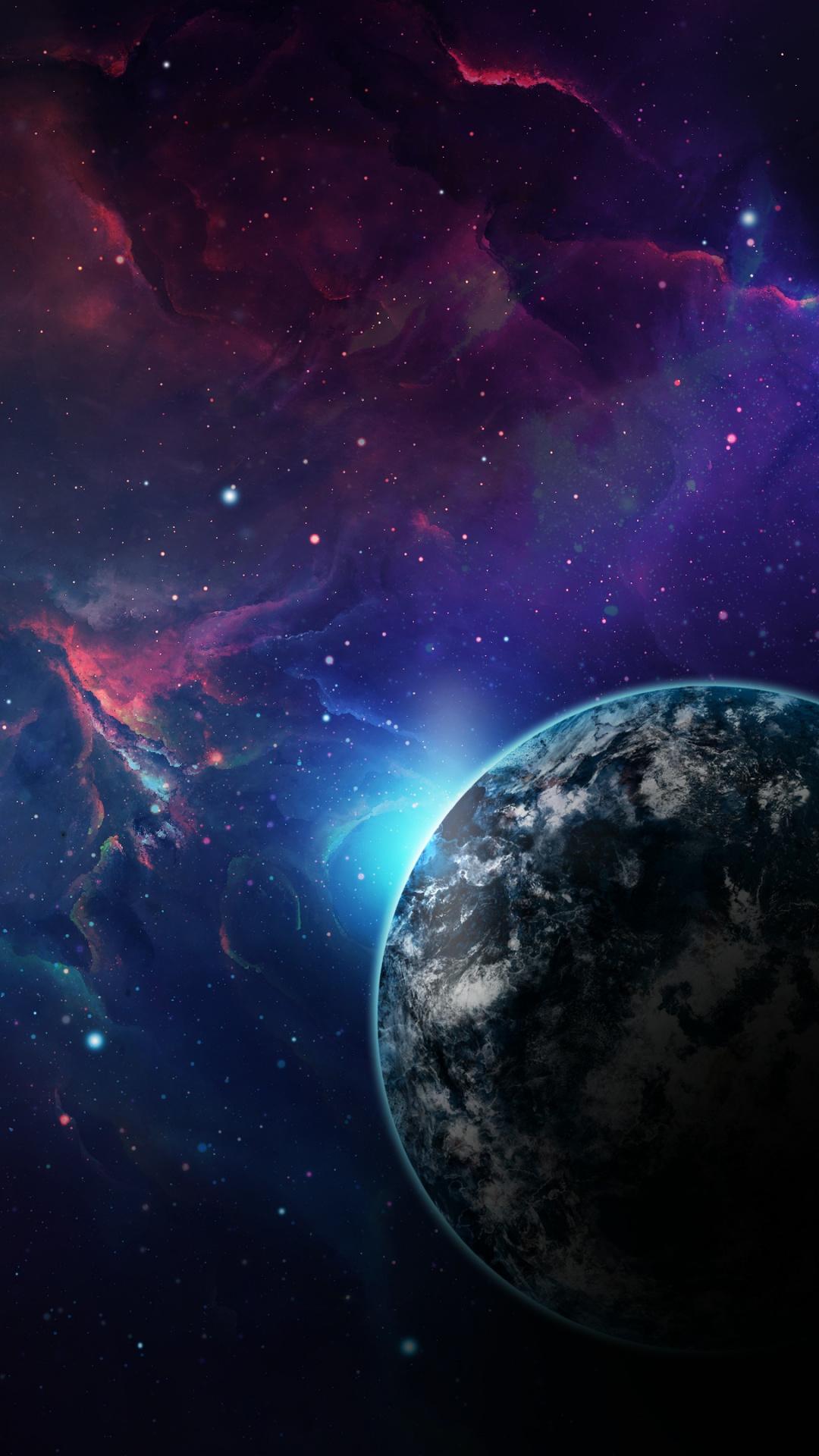 planet galaxy earth space nebula wallpaper in resolution sfondi iphone hd 4k 1080x1920 download hd wallpaper wallpapertip planet galaxy earth space nebula