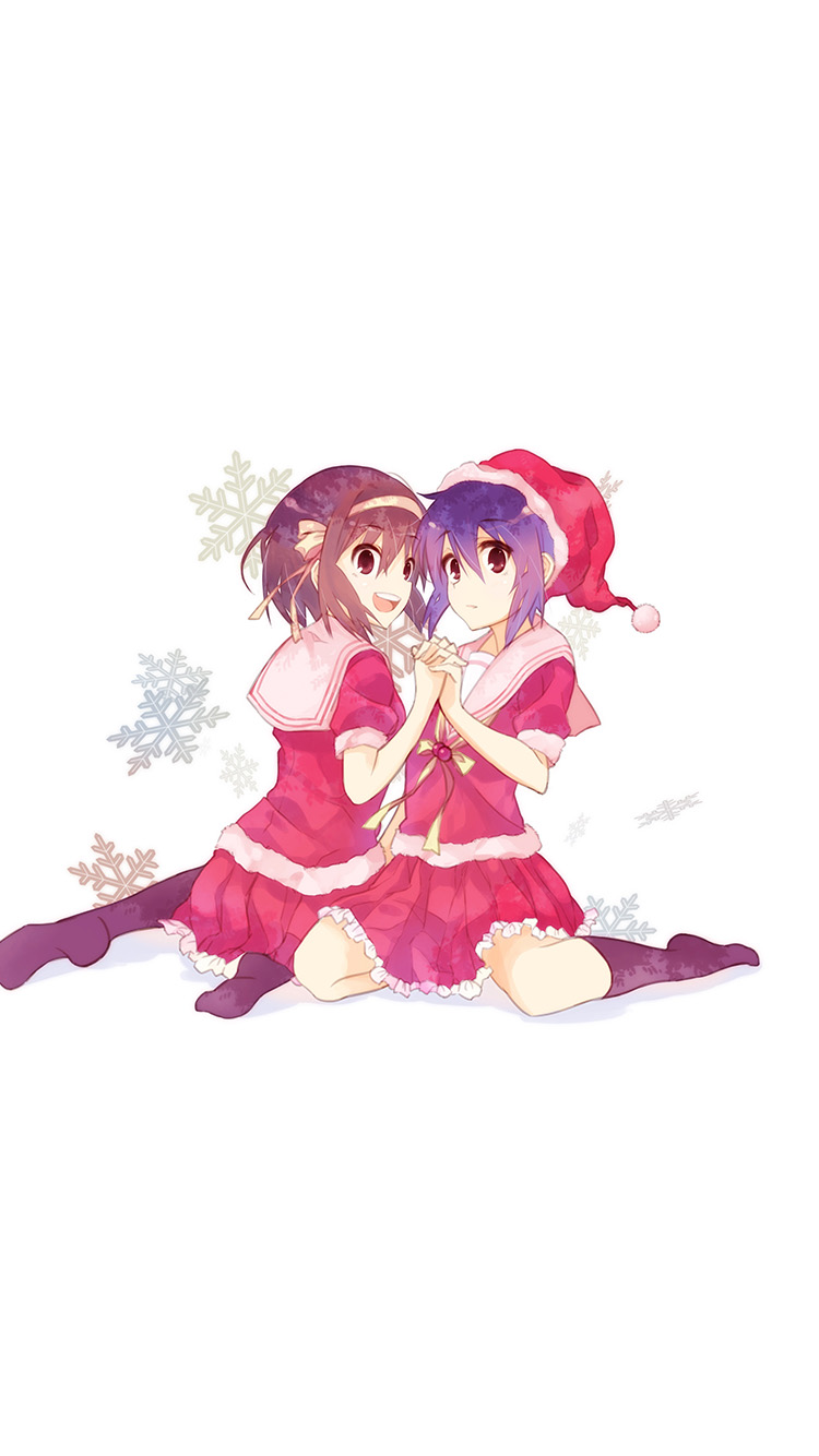 45 453031 cute anime christmas wallpaper phone