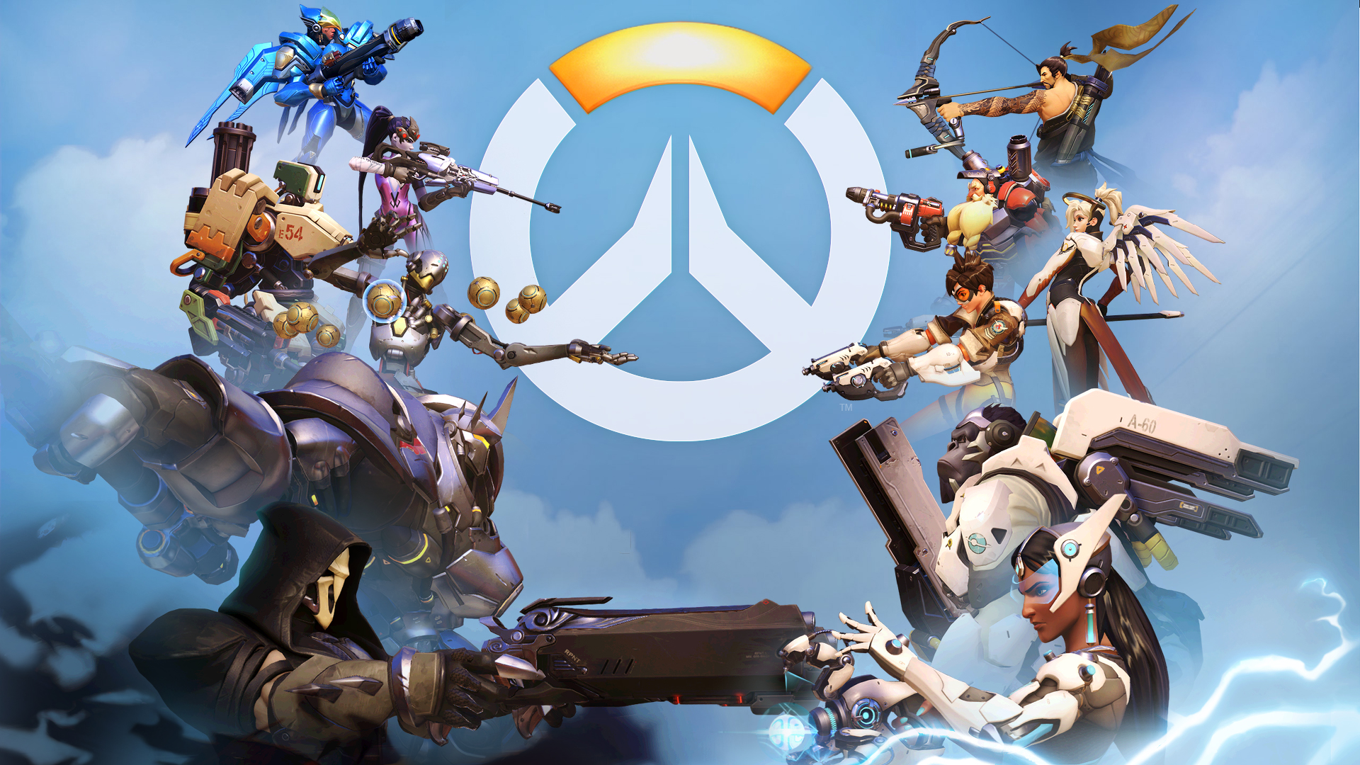 Overwatch Full Hd Wallpaper Hd Overwatch Backgrounds 1920x1080 Download Hd Wallpaper Wallpapertip