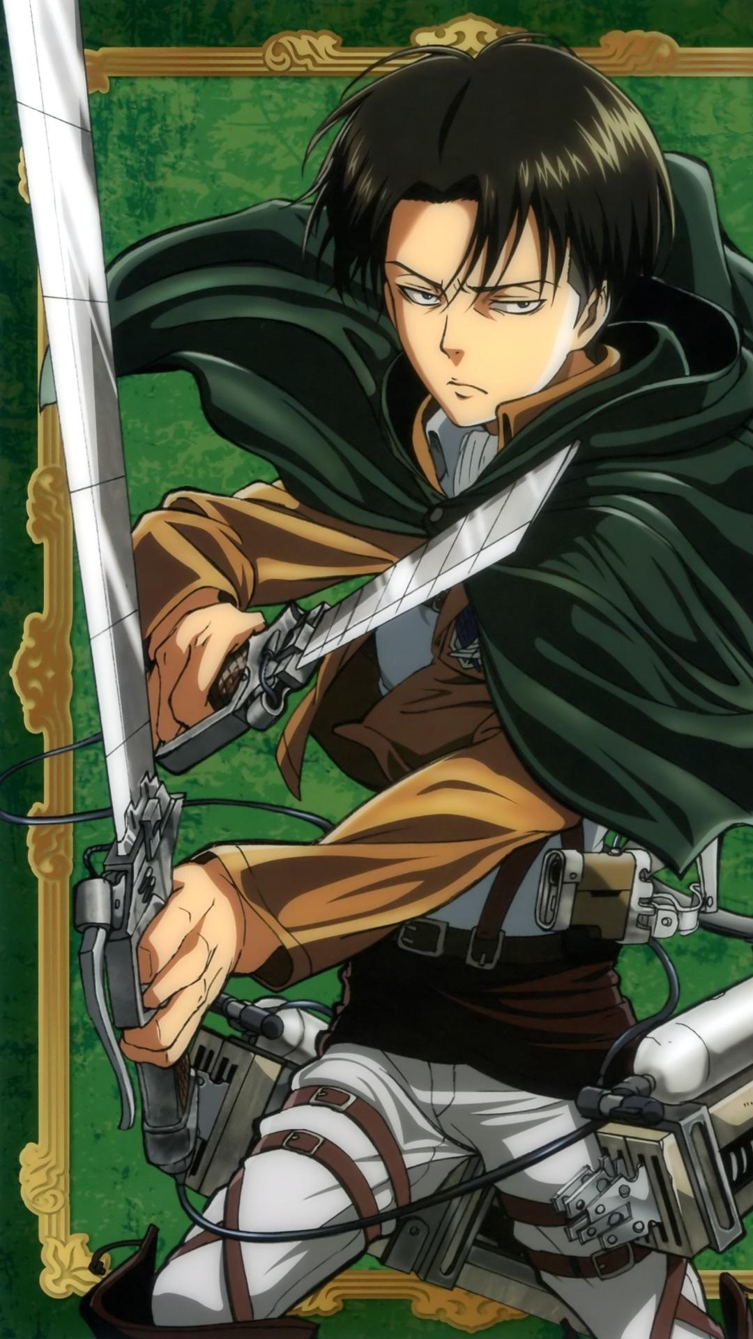Shingeki No Kyojin Attack On Titan Wallpaper Iphone Levi 1080x1920 Download Hd Wallpaper Wallpapertip