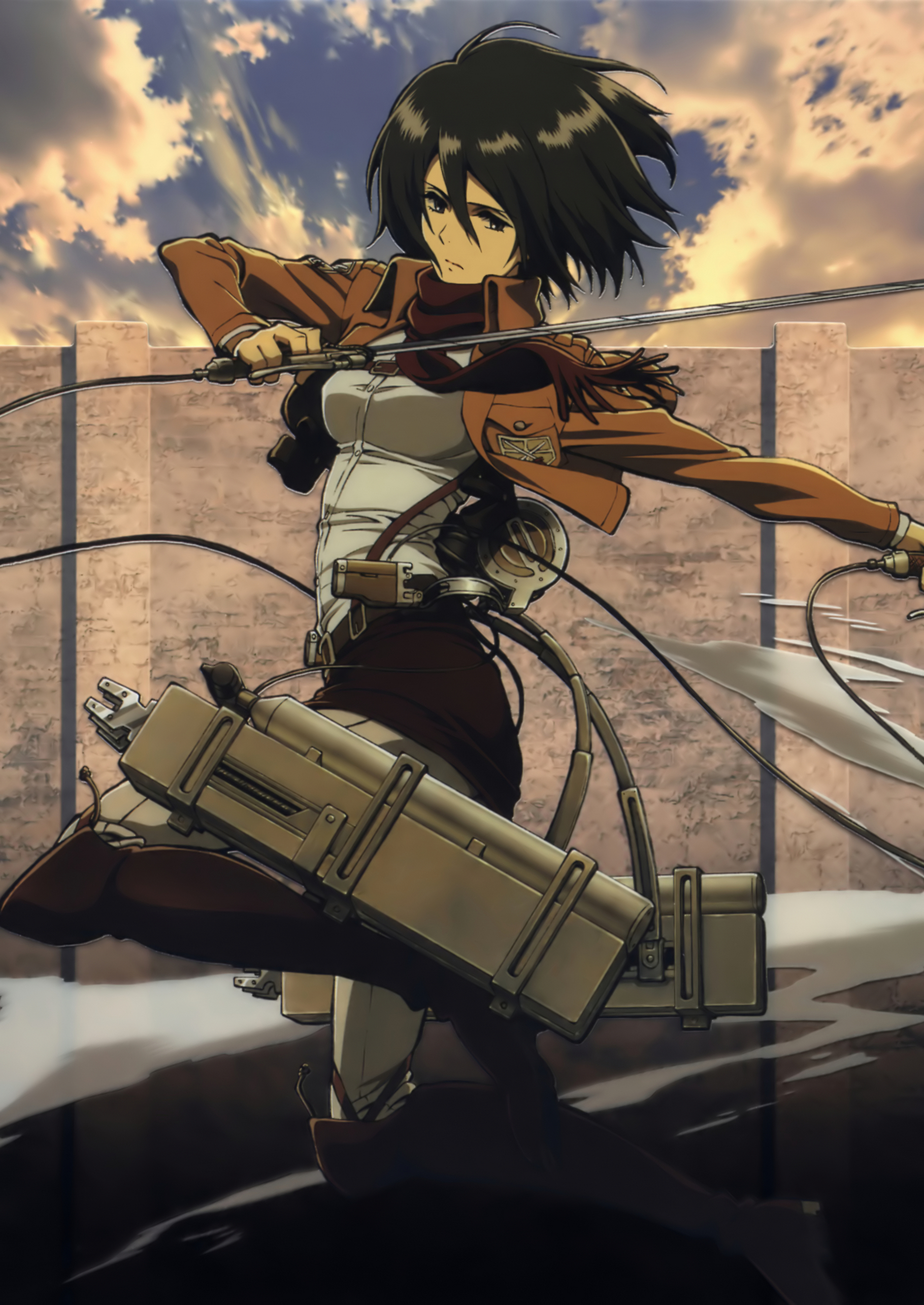 Mikasa Ackerman Wallpaper Phone 1062x1500 Download Hd Wallpaper Wallpapertip